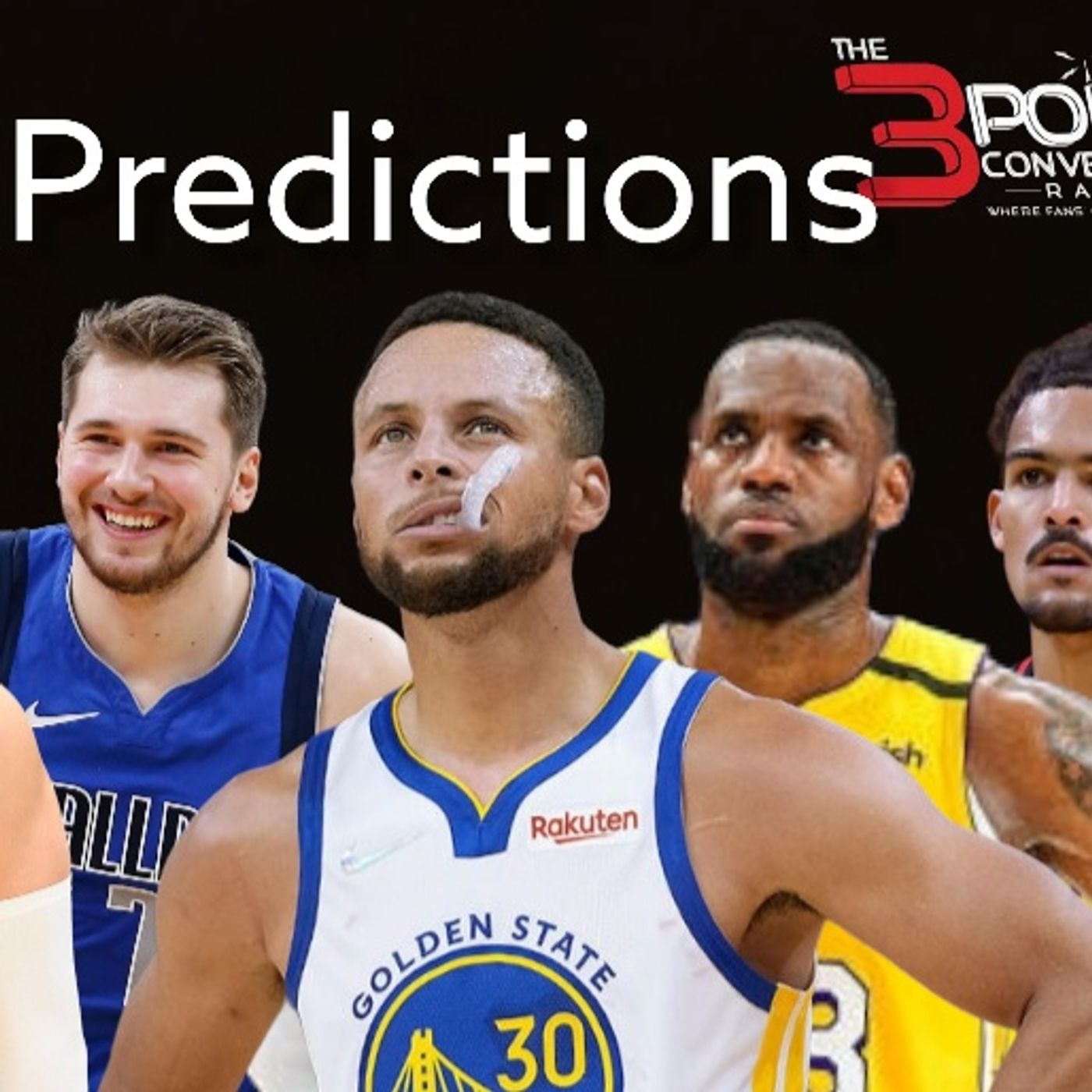 The 3 Point Conversion Sports Lounge - Kyrie vs. Nets, Questionable CFB Polls, NBA Predictions, Lamar vs. Justin, MLB Postseason