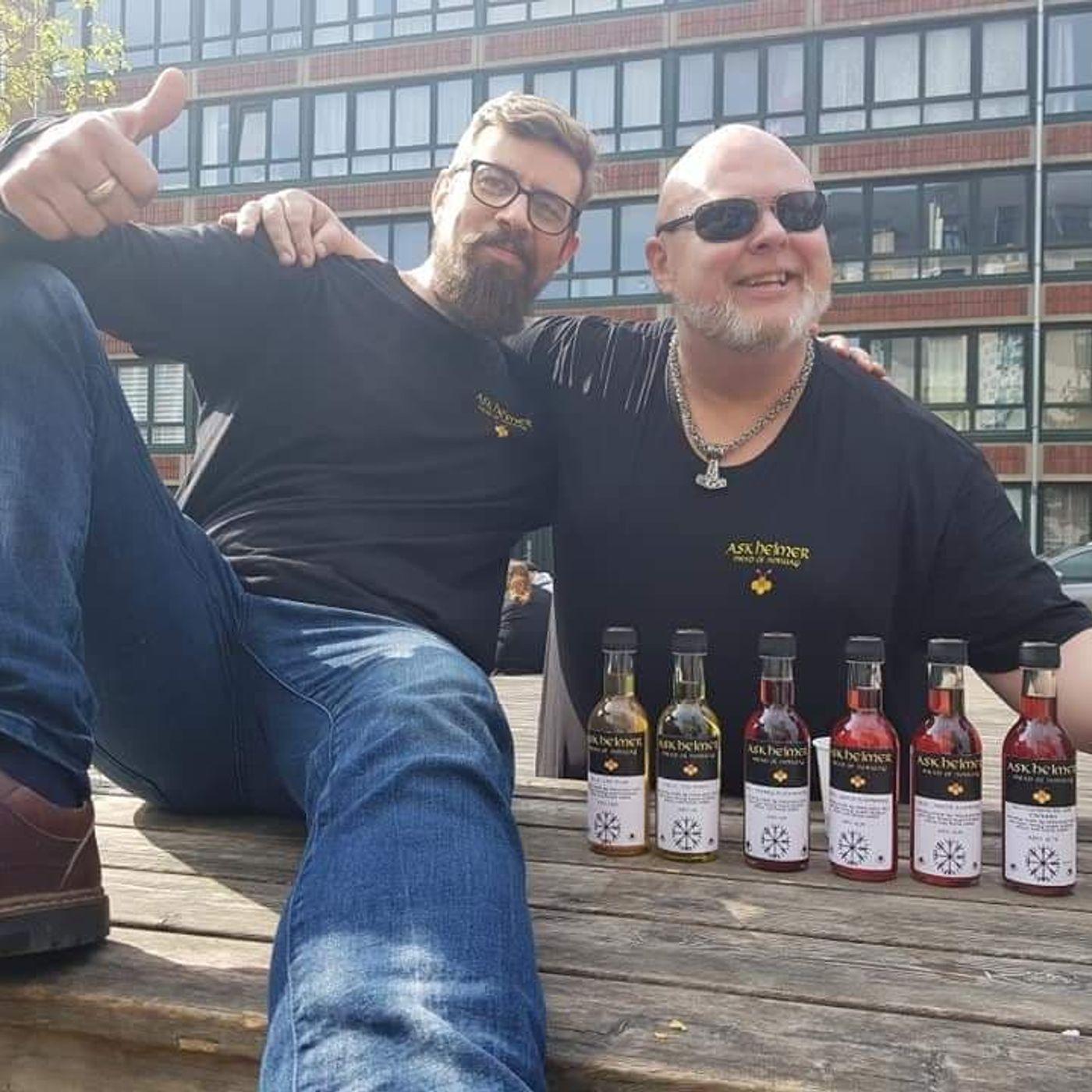 6-8-21 Anders Riseng - Askheimer Meadery in Norway - Making Norwegian Mead with Nordic Ingredients