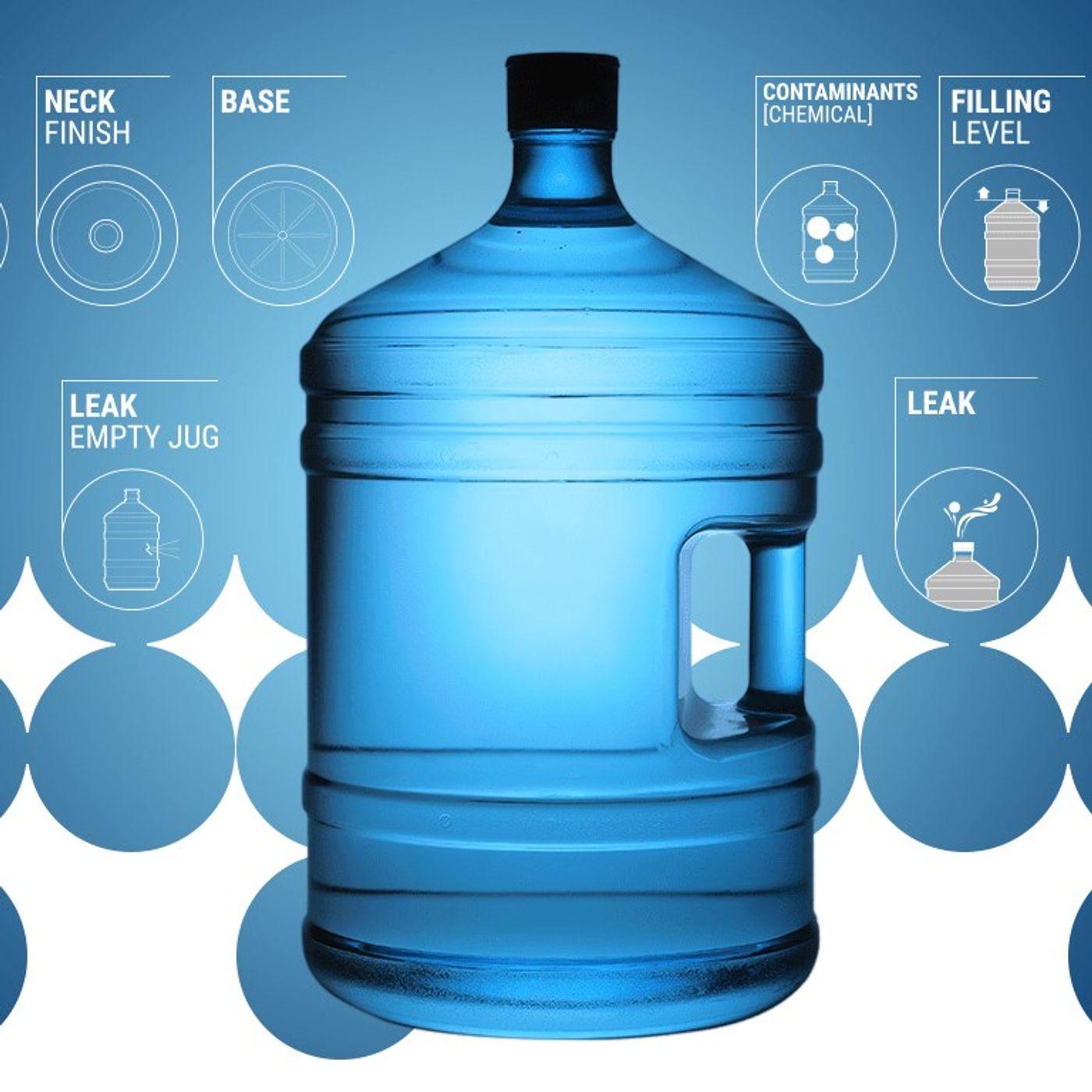 RADIO ANTARES VISION - Ispezione dei boccioni d'acqua: scopriamo l'innovativa soluzione automatica di FT System