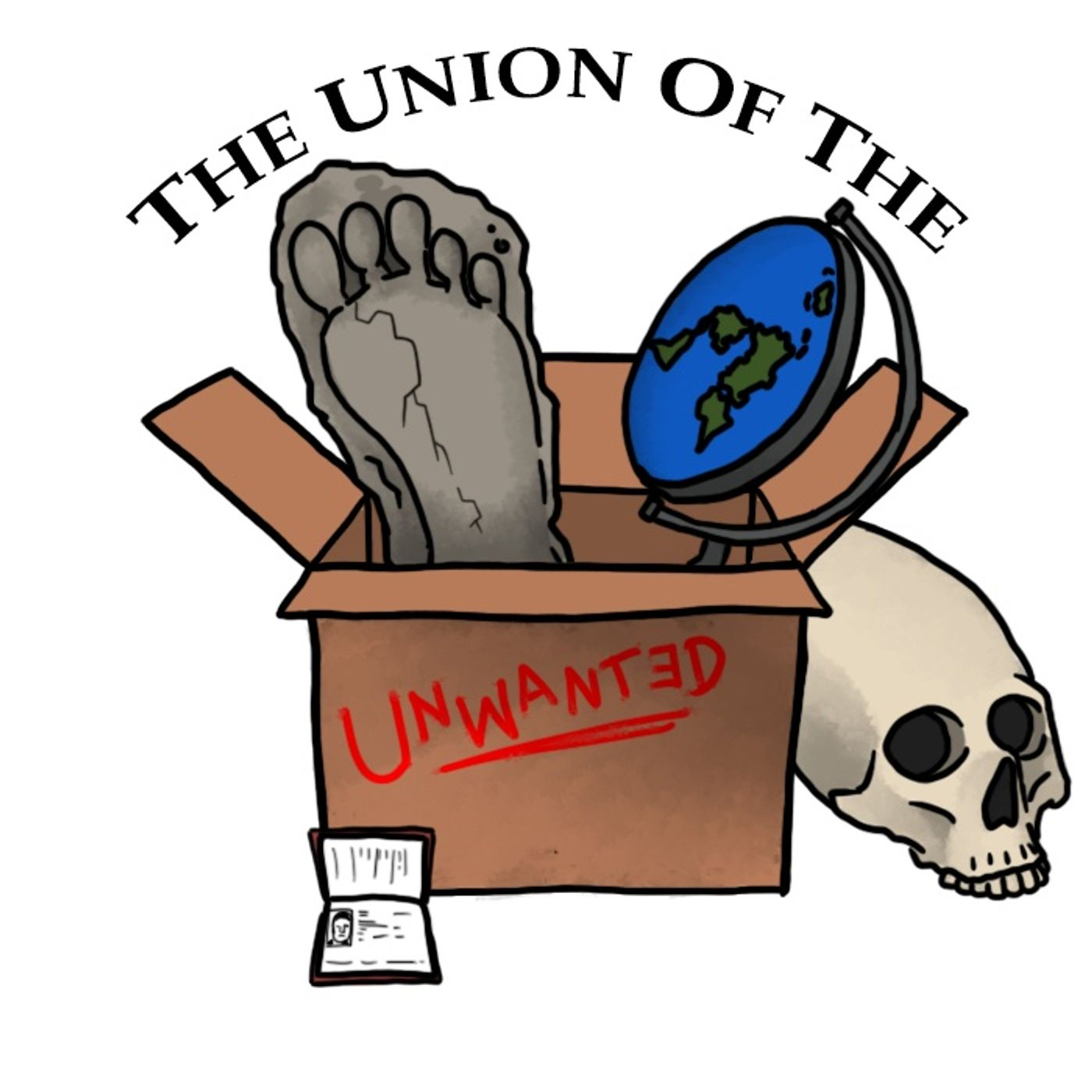#335:  The Union Of The Unwanted #3 Swapcast with Edge Of Wonder, Grimerica, Ripple Effect, TFH, OBDM And Microaggressions