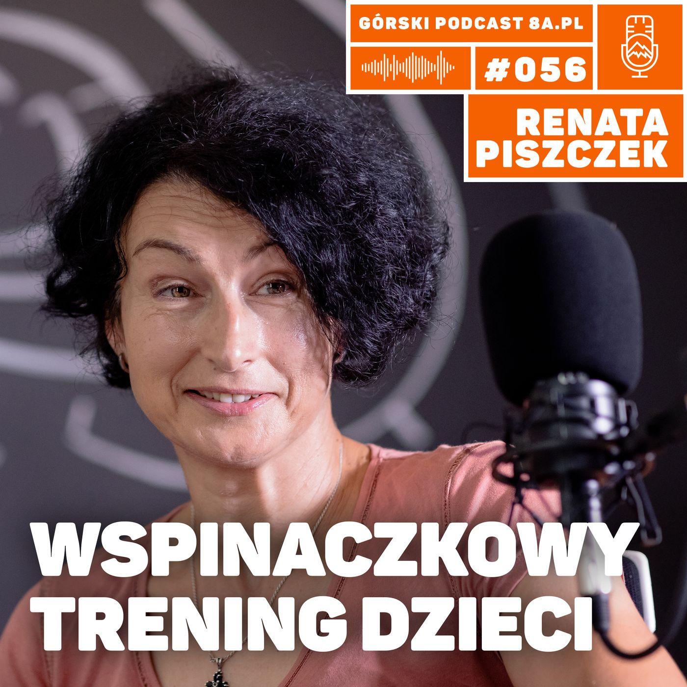 #056 8a.pl - Renata Piszczek. Trening wspinaczkowy dzieci.
