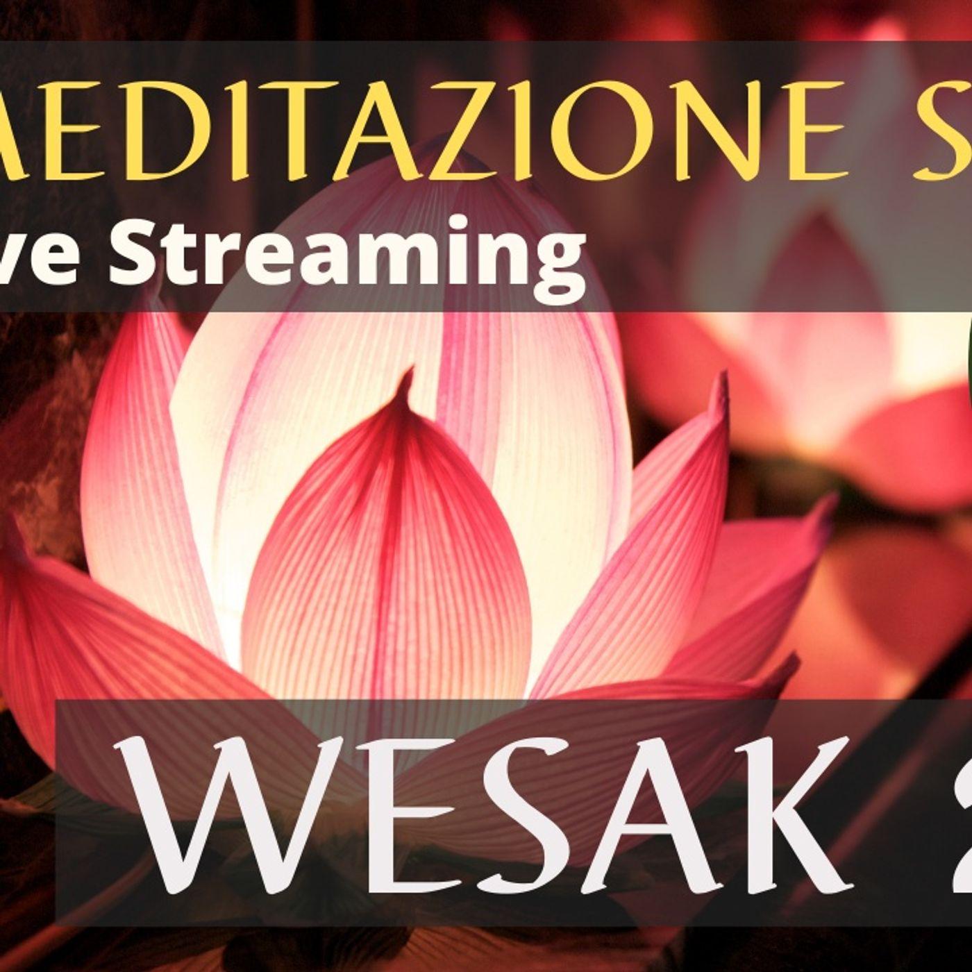 Meditazione Sonora Wesak 2021 | Live Streaming