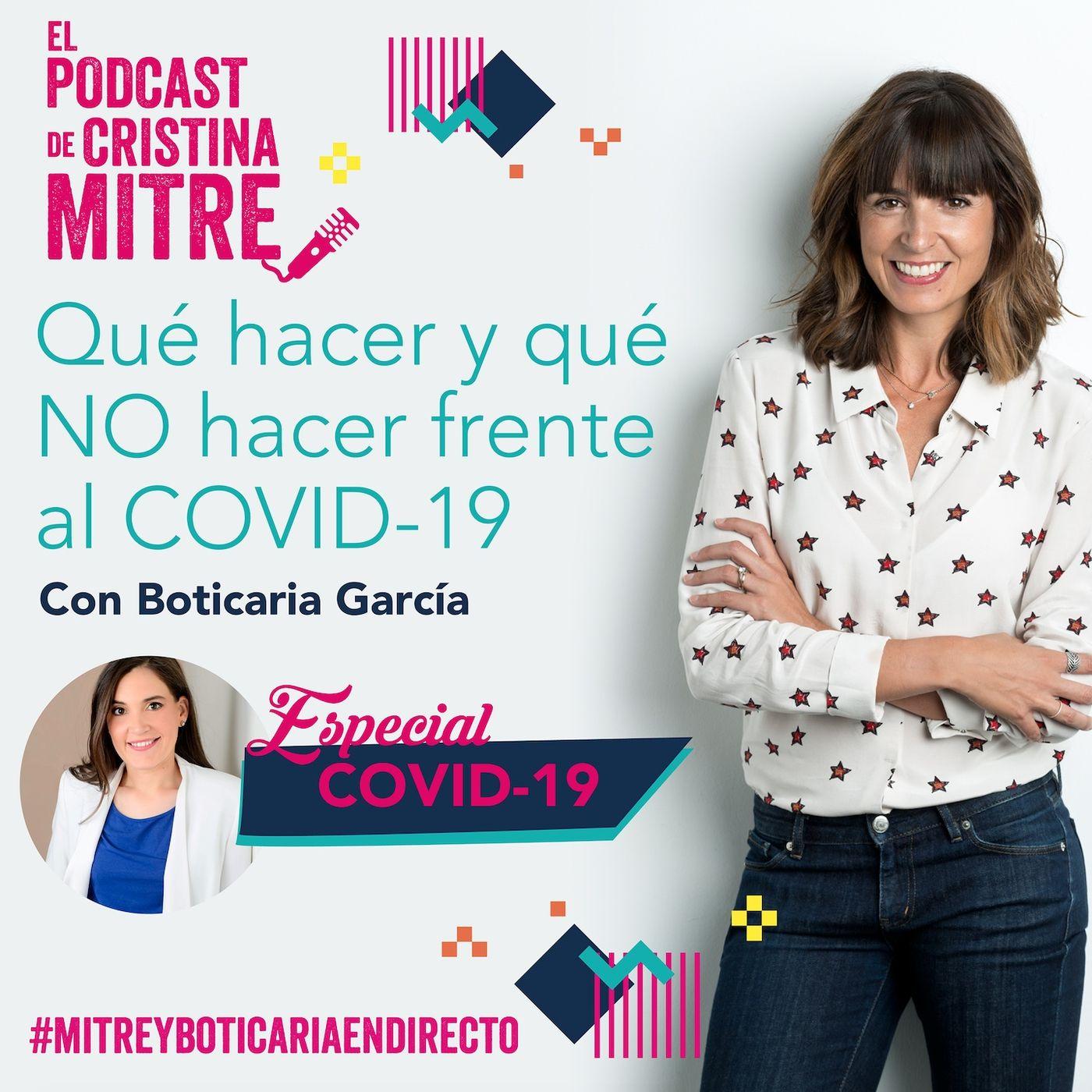Qué hacer y qué NO hacer frente al coronavirus con Boticaria García. Especial COVID-19
