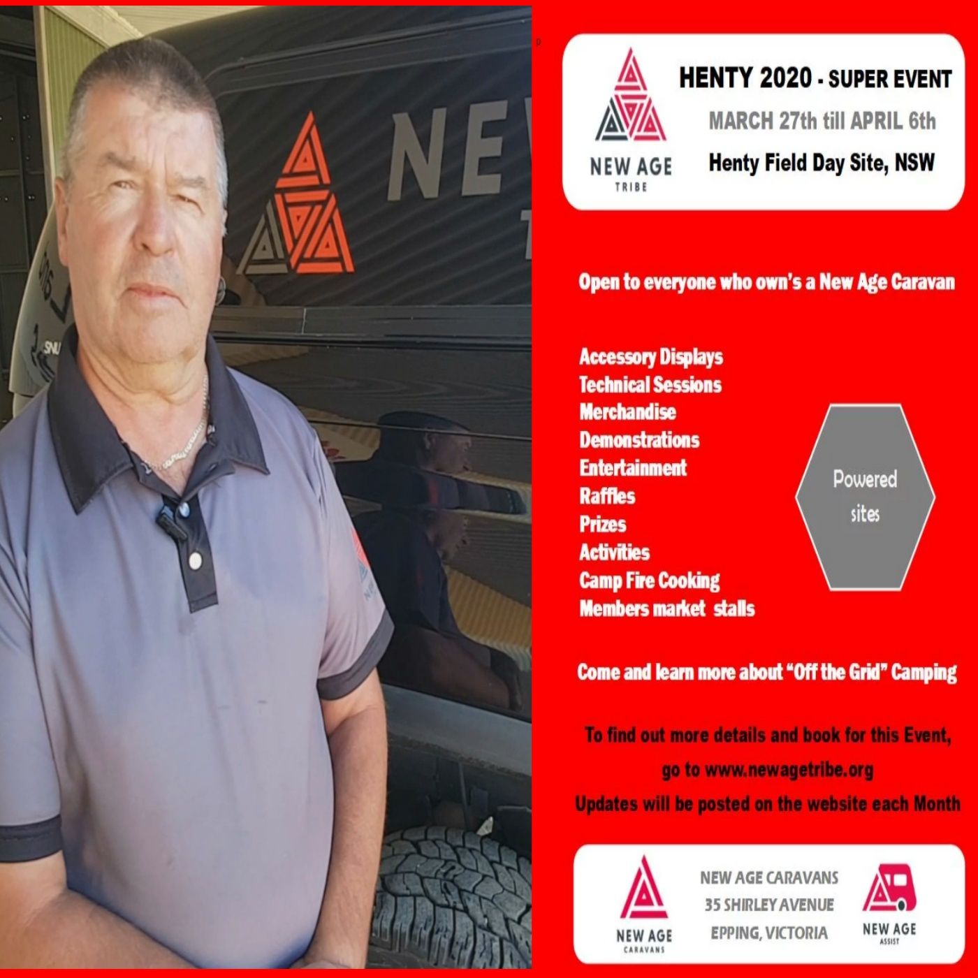All About New Age Tribe Henty 2020 - Bryan Crow