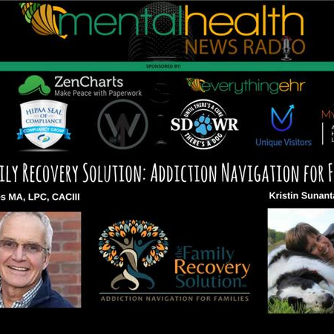 Mental Health News Radio - The Family Recovery Solution: Addiction Navigation for Families