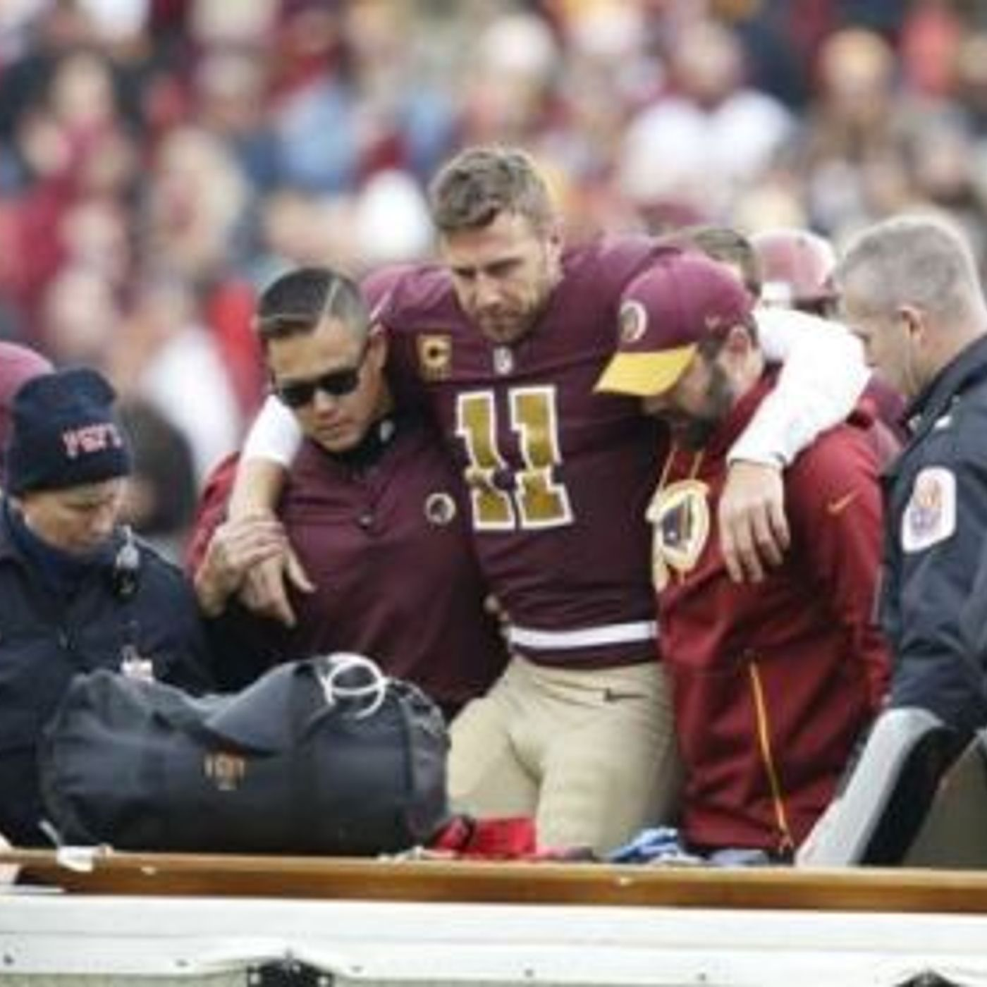 Conflicting COVID Protocol in the NFL; Washington QB Alex Smith returns following 17 surgeries and near amputation of his right leg