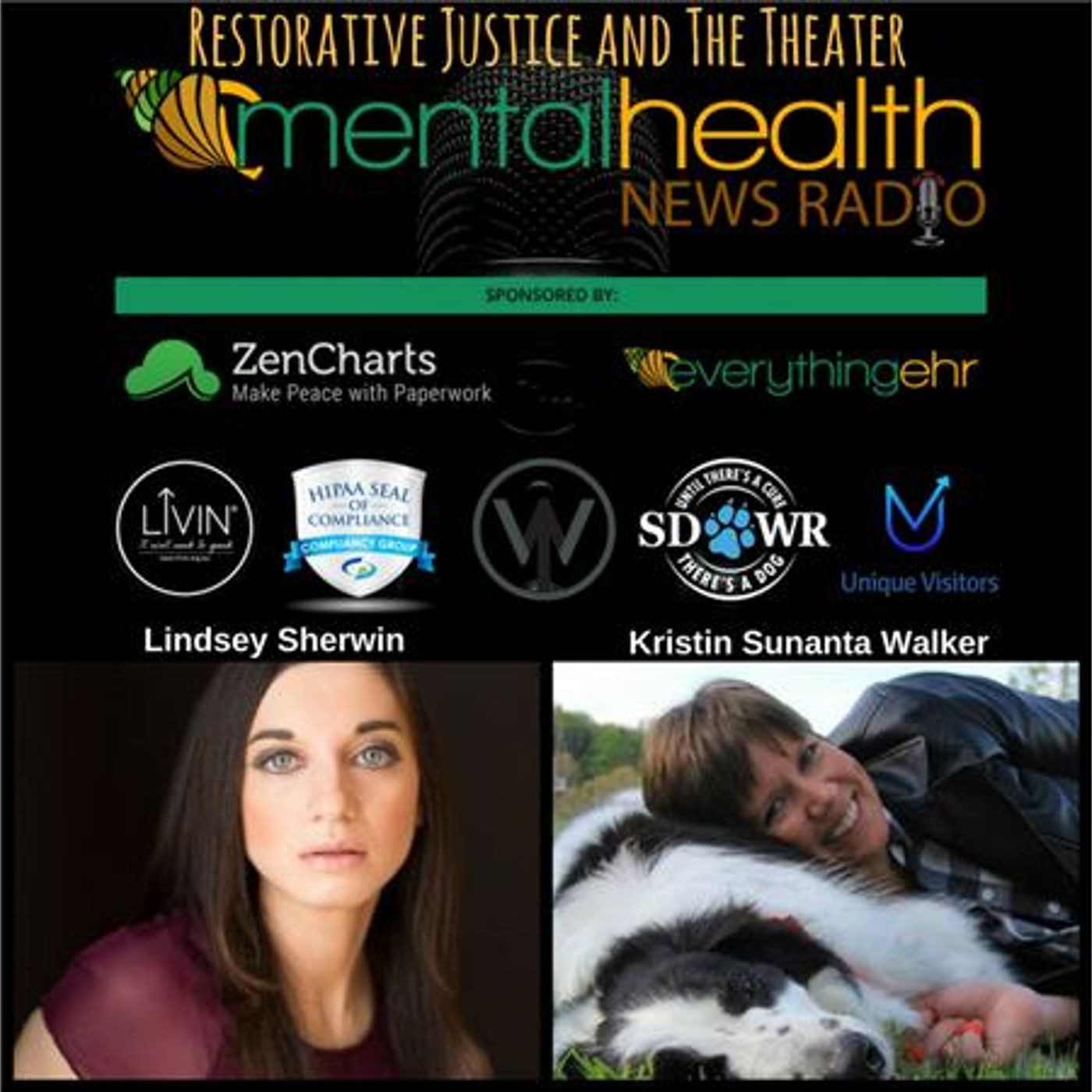 Mental Health News Radio - Restorative Justice and the Theater with Lindsey Sherwin