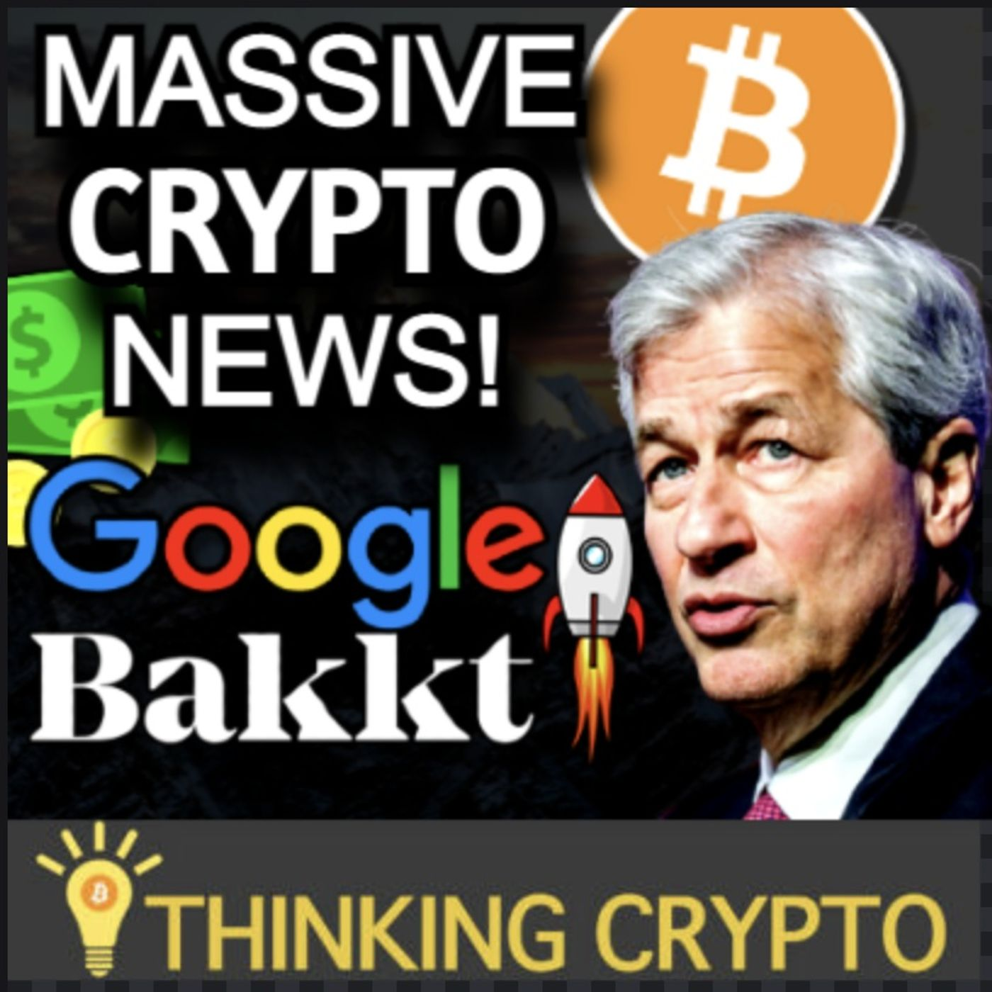 Google To Accept CRYPTO Via Bakkt - Ted Cruz Bitcoin Mining - Jamie Dimon Bitcoin FUD