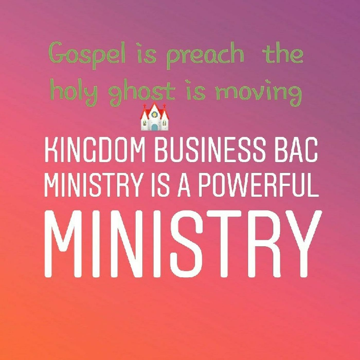 Episode 118 - KINGDOM BUSINESS Bac Ministry's show