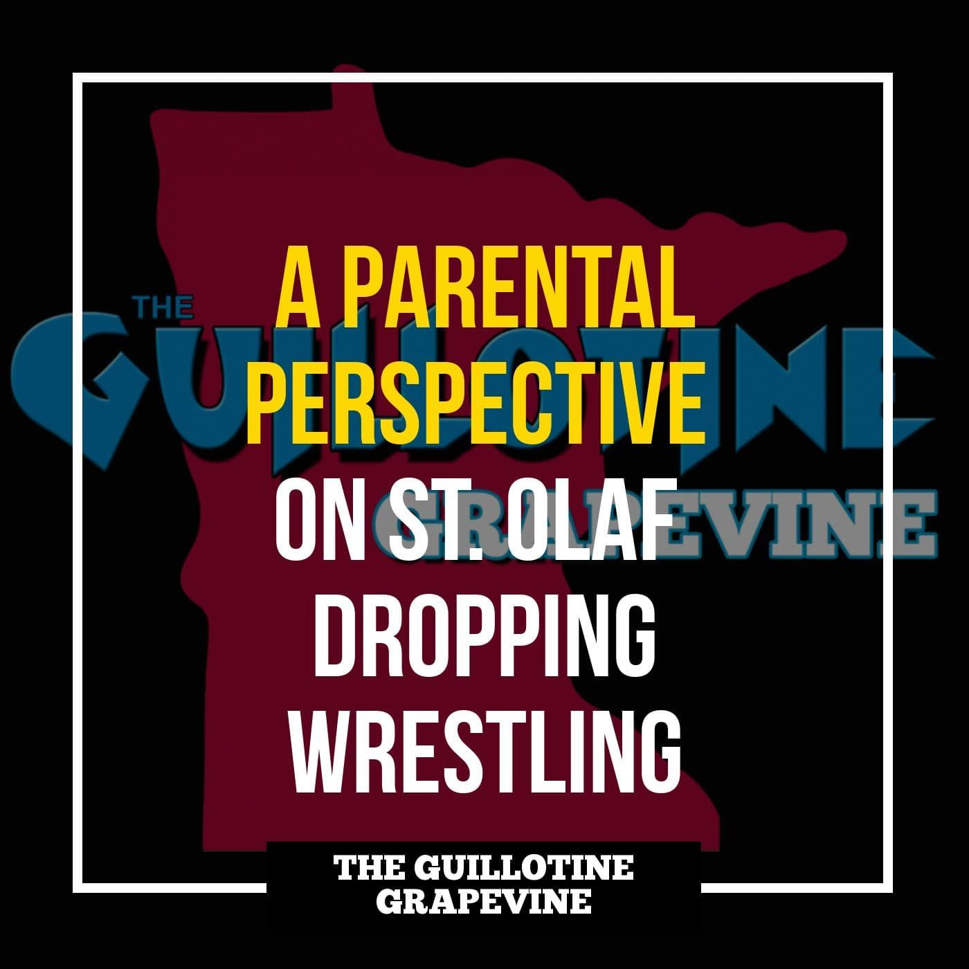 Parents perspective on St. Olaf dropping wrestling - GG61
