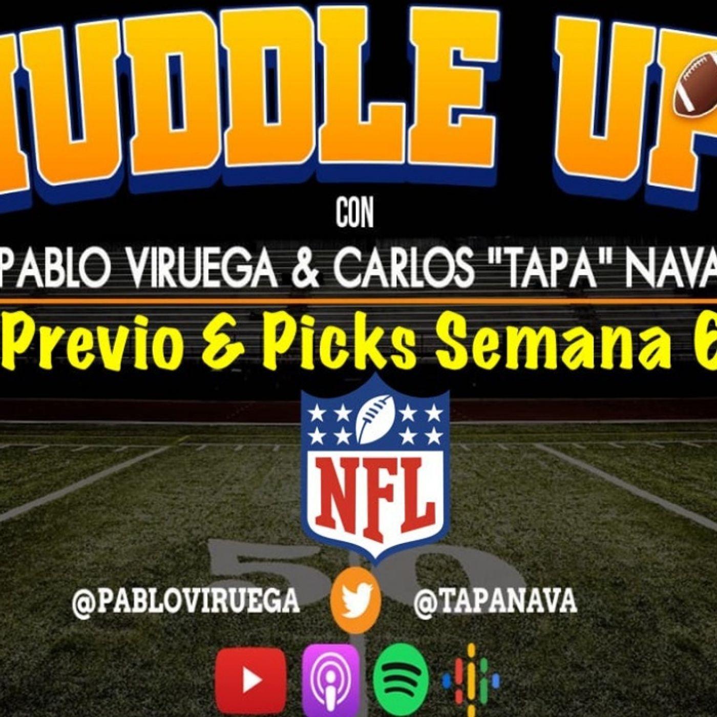 #HuddleUP Previo & #NFLPicks Semana 6 #NFL @TapaNava @PabloViruega