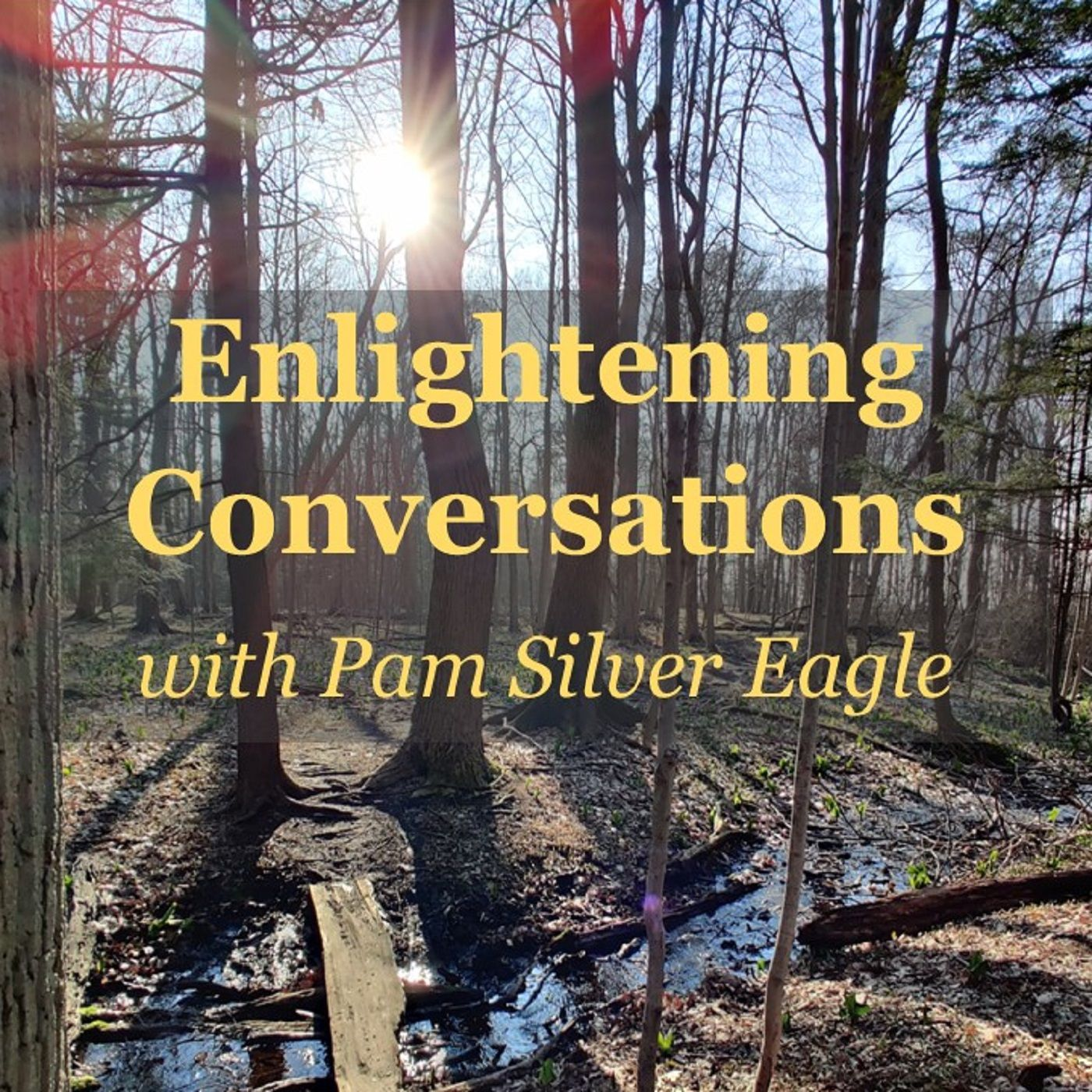 Enlightening Conversations with Pam Silver Eagle ~ Special Guest: Rev Tiffany White Sage Woman ~ 22Sept2020
