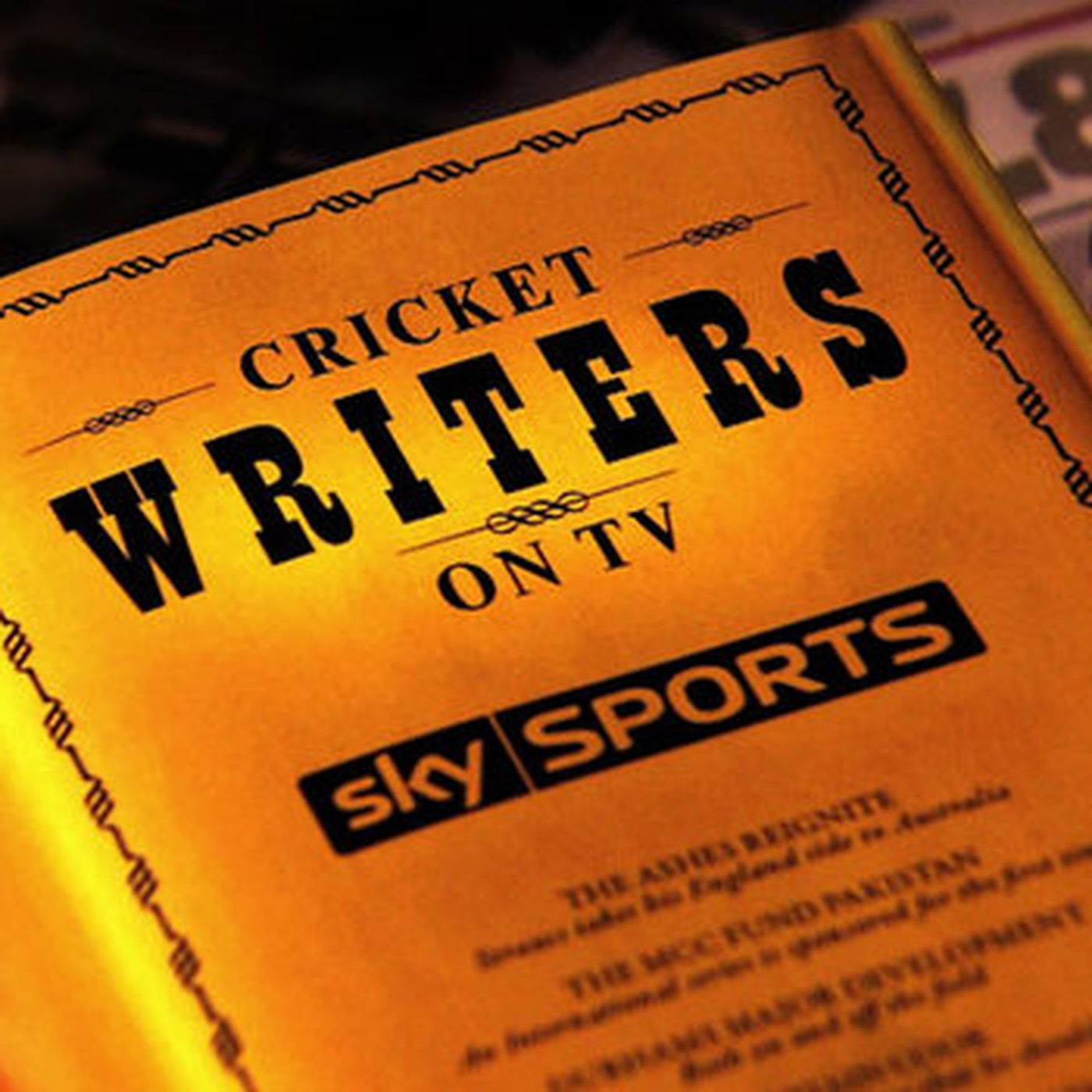 Cricket Writers on TV - July 23