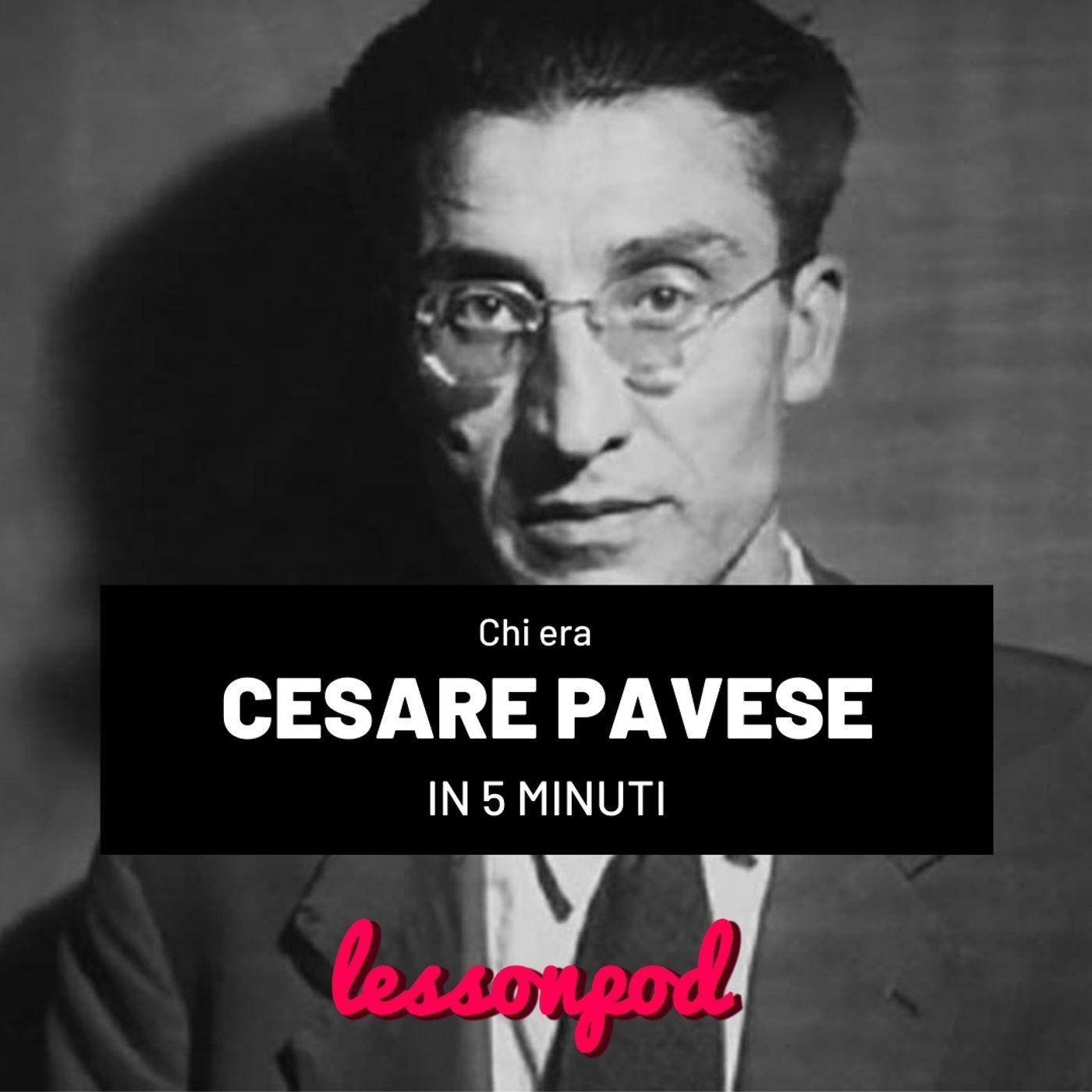 Chi era Cesare Pavese in 5 minuti