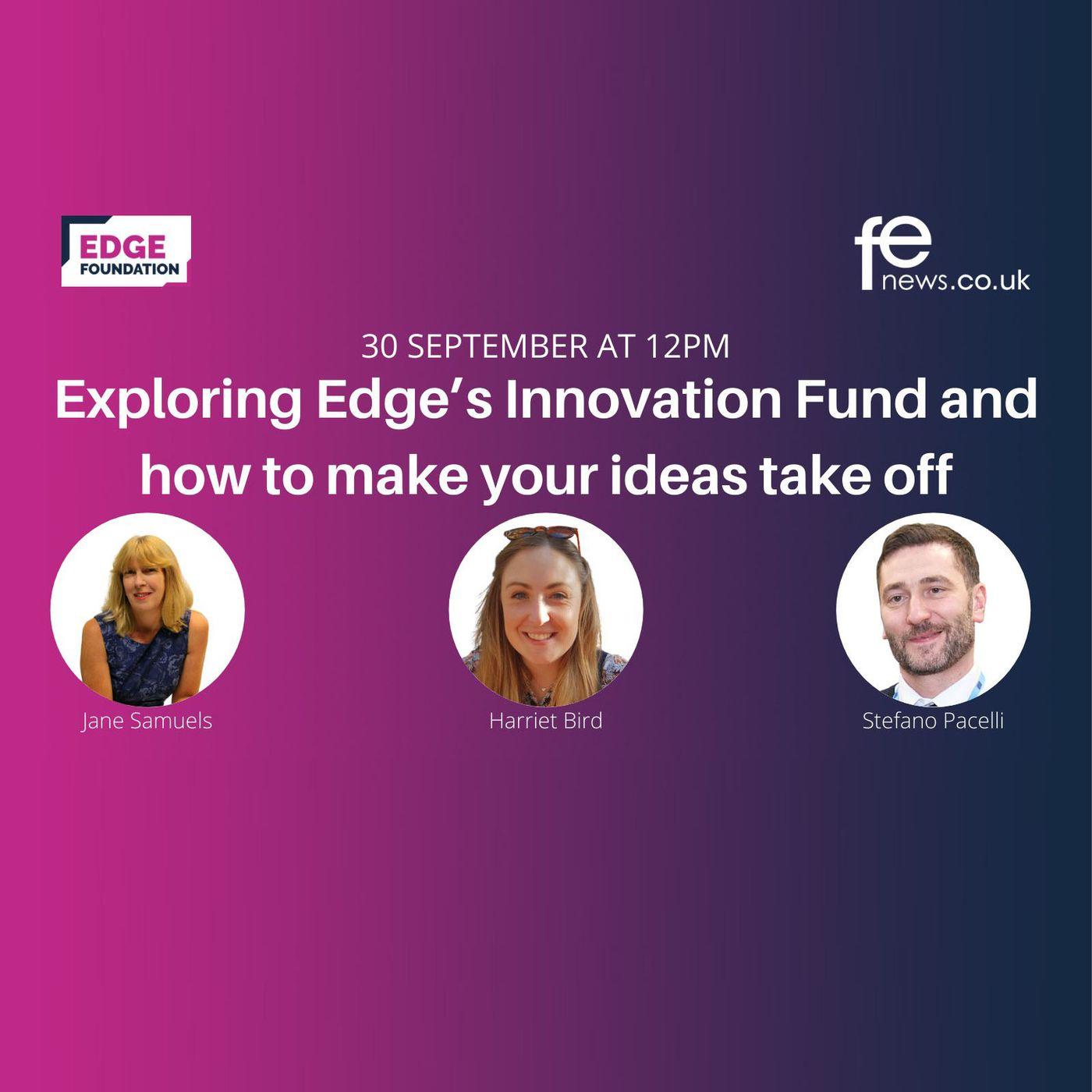 Exploring Edge's Innovation Fund #EdgyThinking Livestream 1
