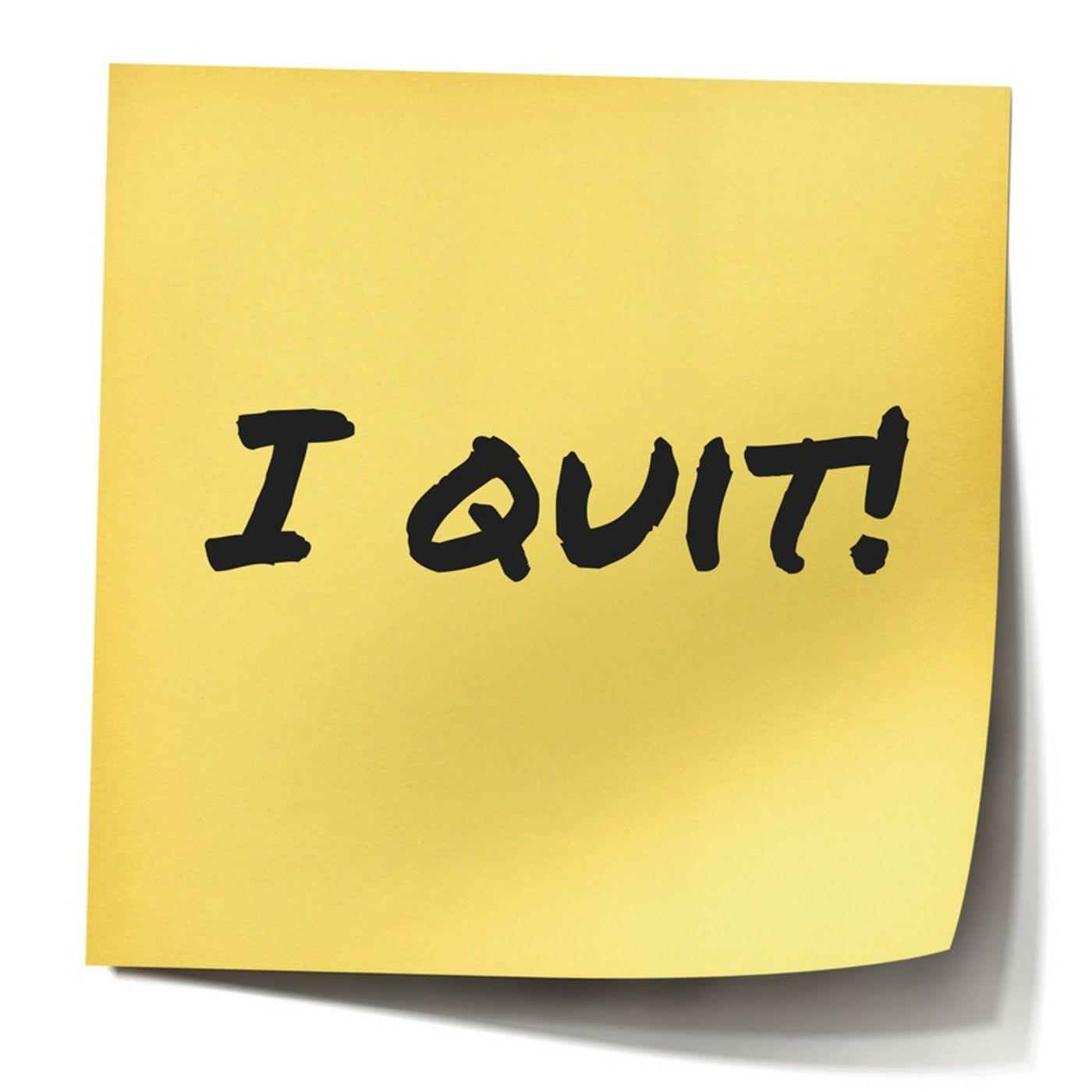 Bible Study Exercise: I Quit