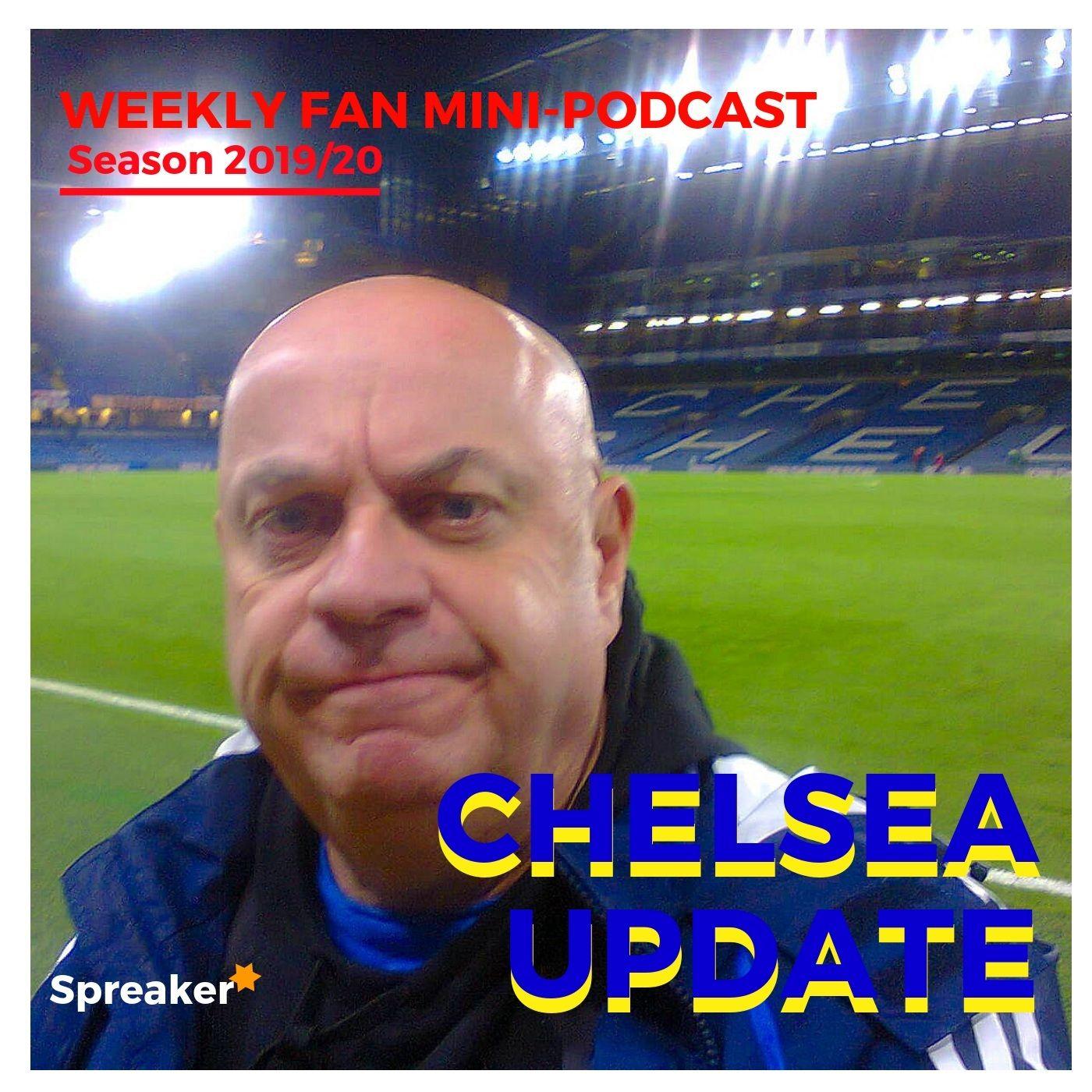 Preview: Chelsea v Sheffield Utd ( 31/08/19 C U #104 )