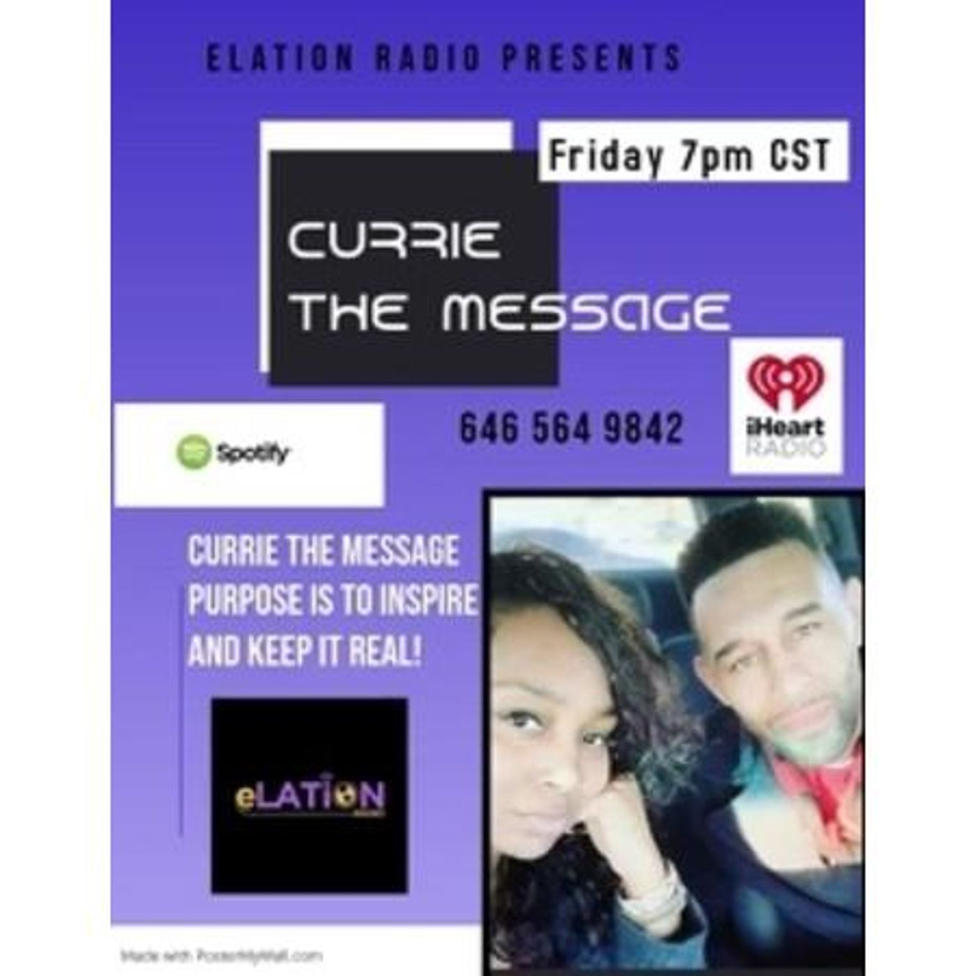 Currie the Message with Pastor Currie and First Lady