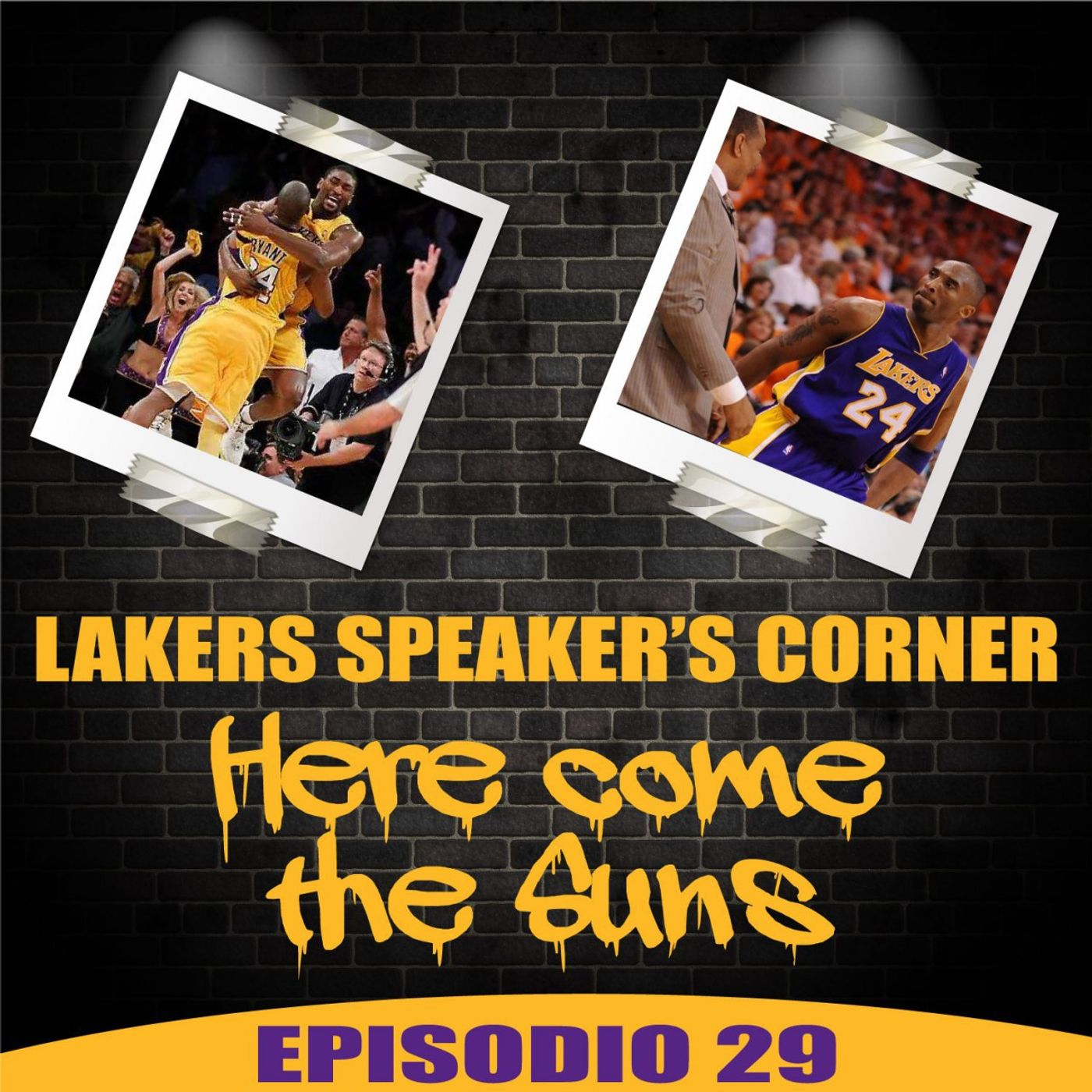 Lakers Speaker's Corner E29 - Here come the Suns