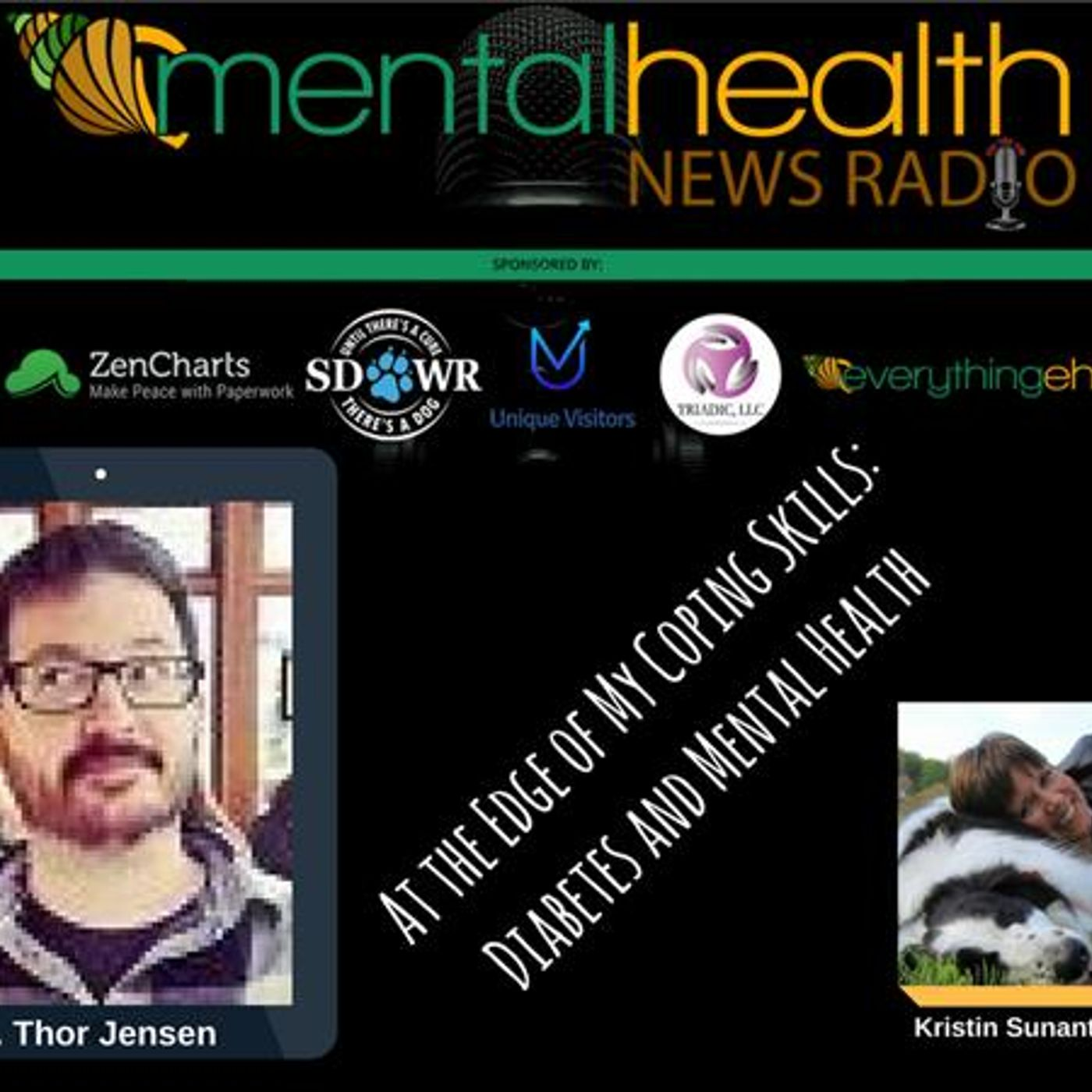 Mental Health News Radio - At the Edge of My Coping Skills: K. Thor Jensen on Diabetes and Mental Health