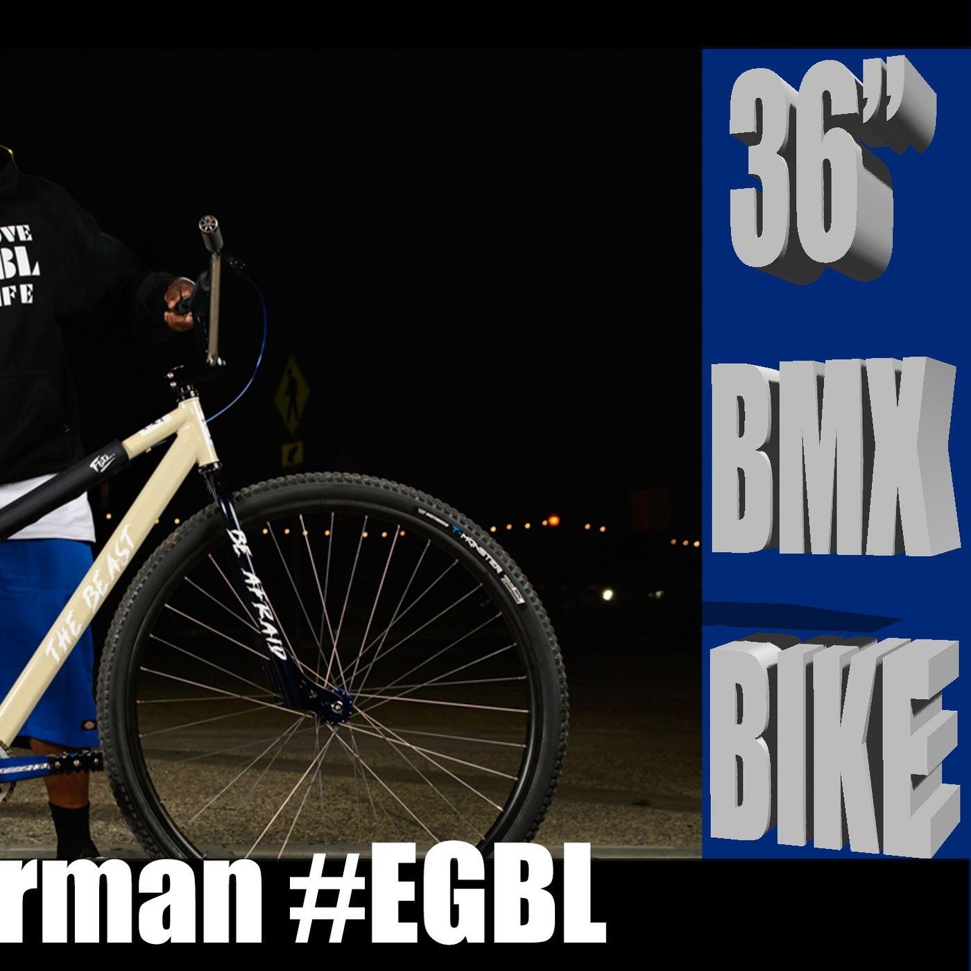 "Custom 36"" BMX Bike! Talk bikes with Dozier of Elk Grove Bikelife"