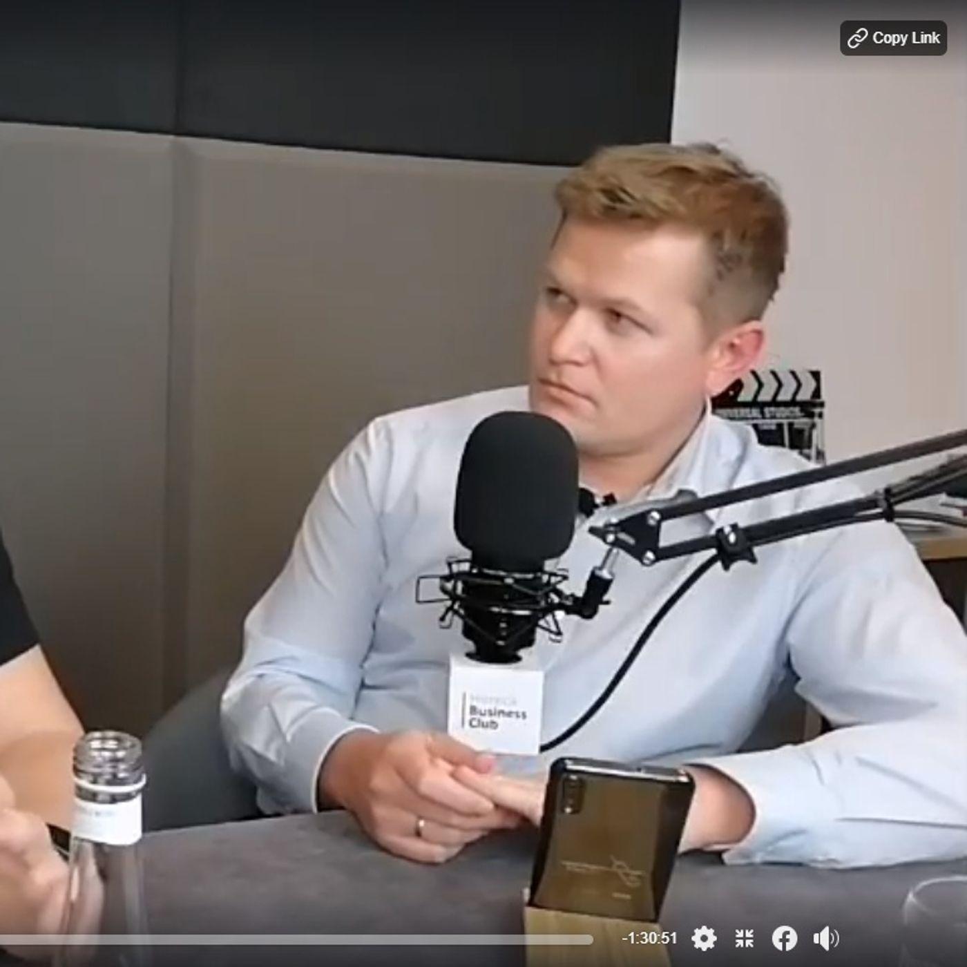 Goście Horeca Radio, odc. 46 - Maciej Straus - Hotel Afrodyta Business & Spa