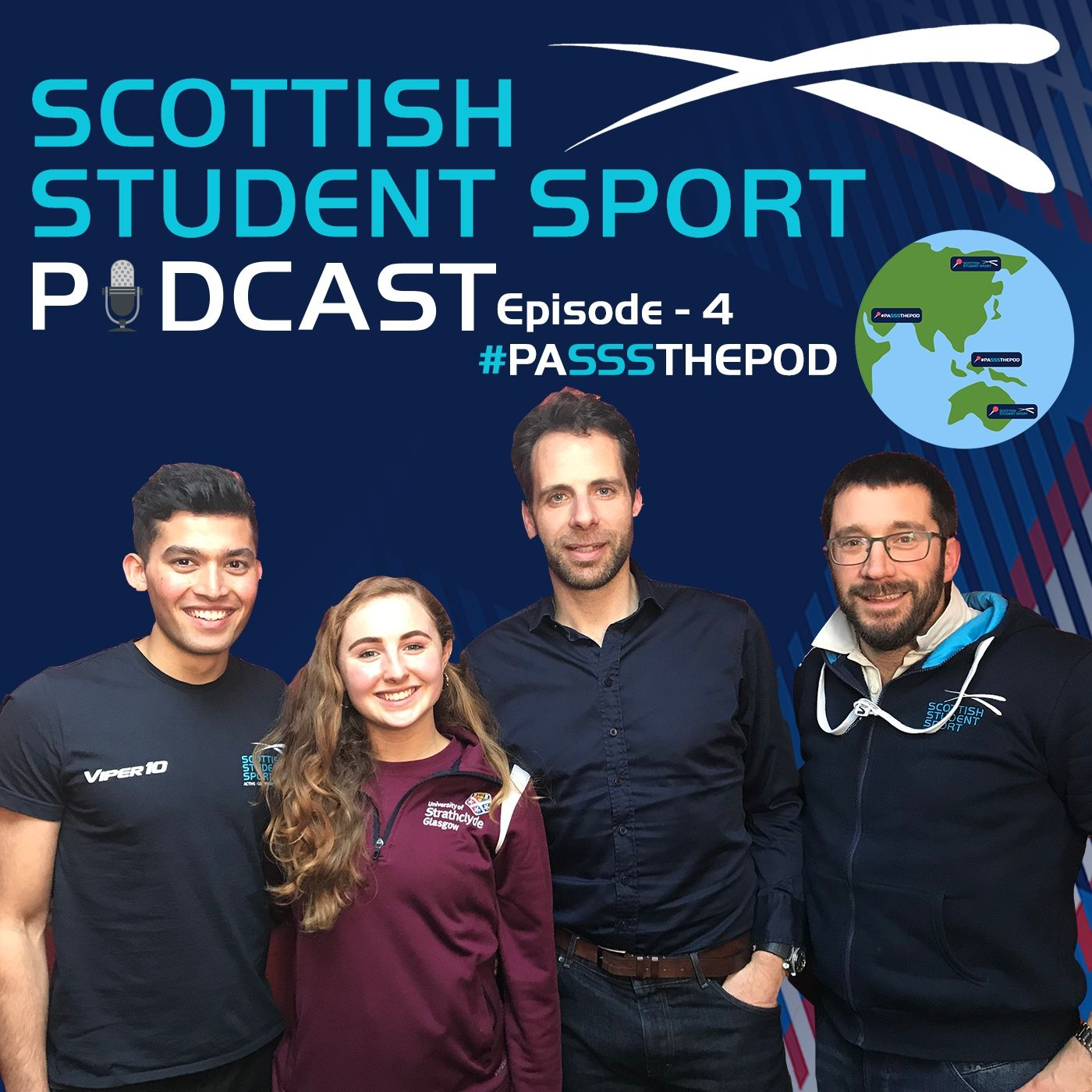 Episode 4   #PASSSTHEPOD with Mark Beaumont
