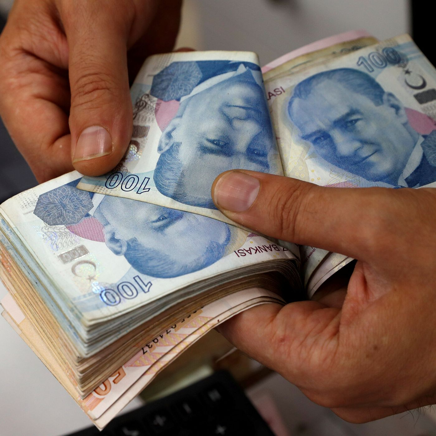 Turkey is expanding while financially falling.