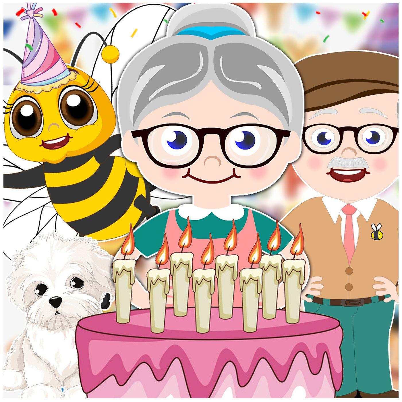 Mrs. Honeybee's Birthday - Bedtime Story