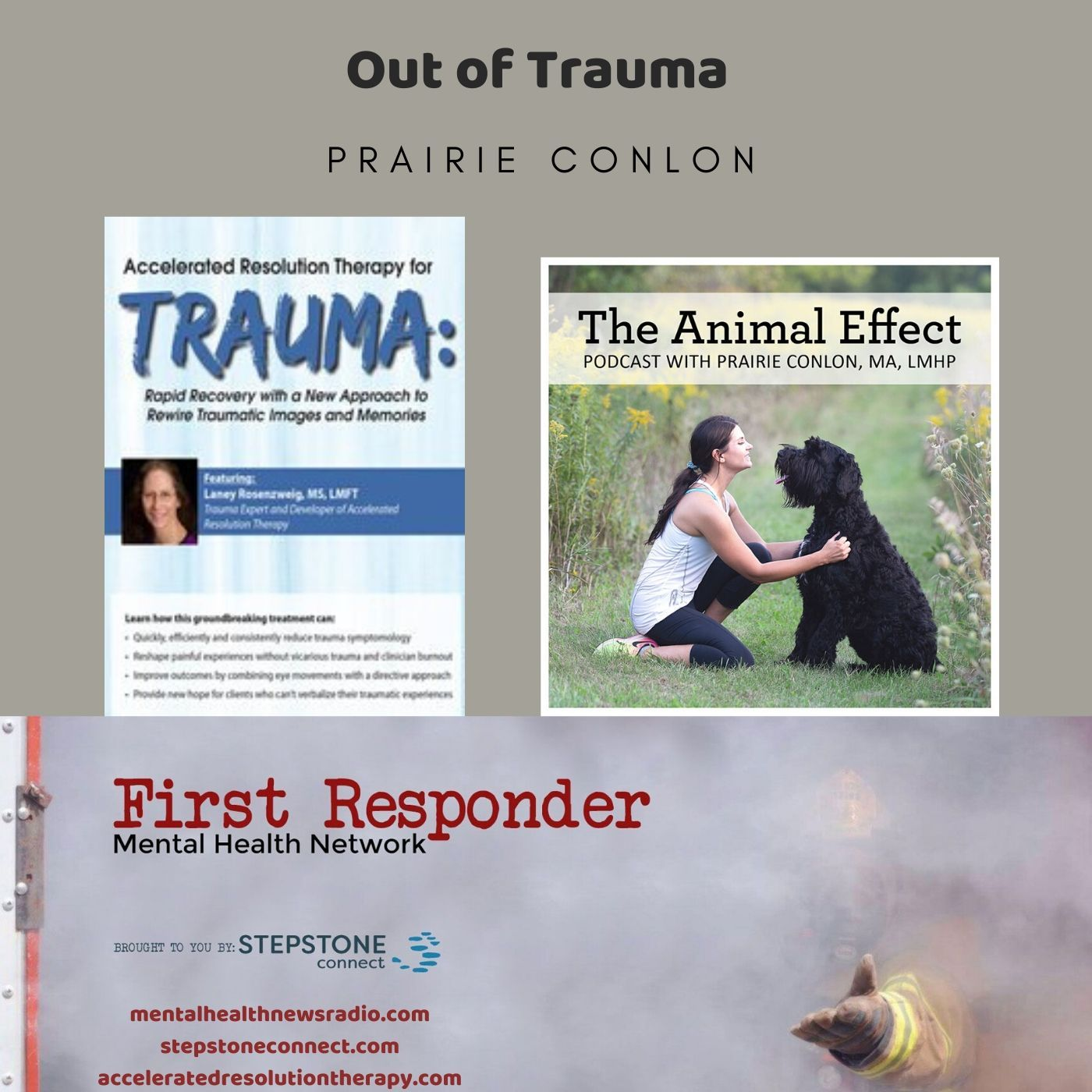 Mental Health News Radio - Accelerated Resolution Therapy: Out of Trauma
