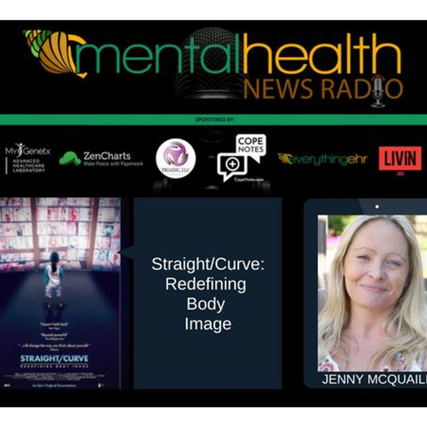 Mental Health News Radio - Straight/Curve: Redefining Body Image with Director Jenny McQuaile