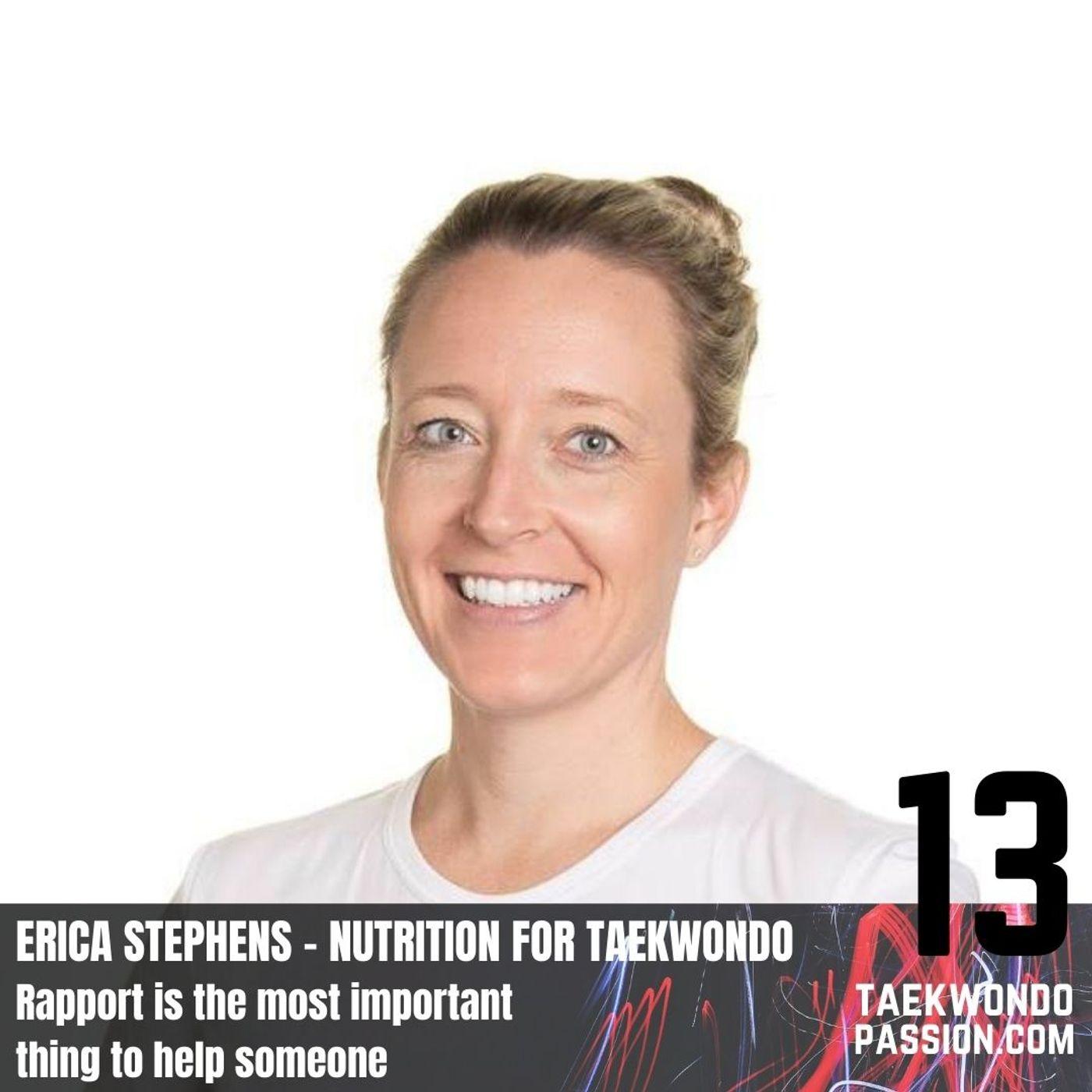 Erica Stephens - Nutrition for taekwondo