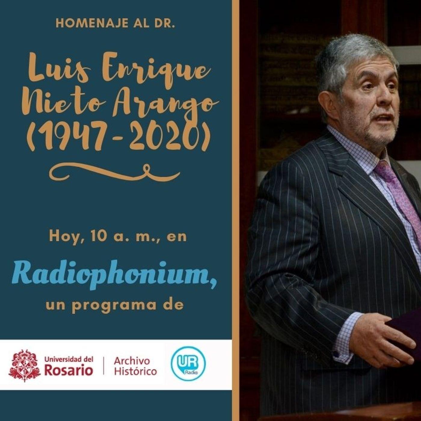 Homenaje al Dr. Luis Enrique Nieto