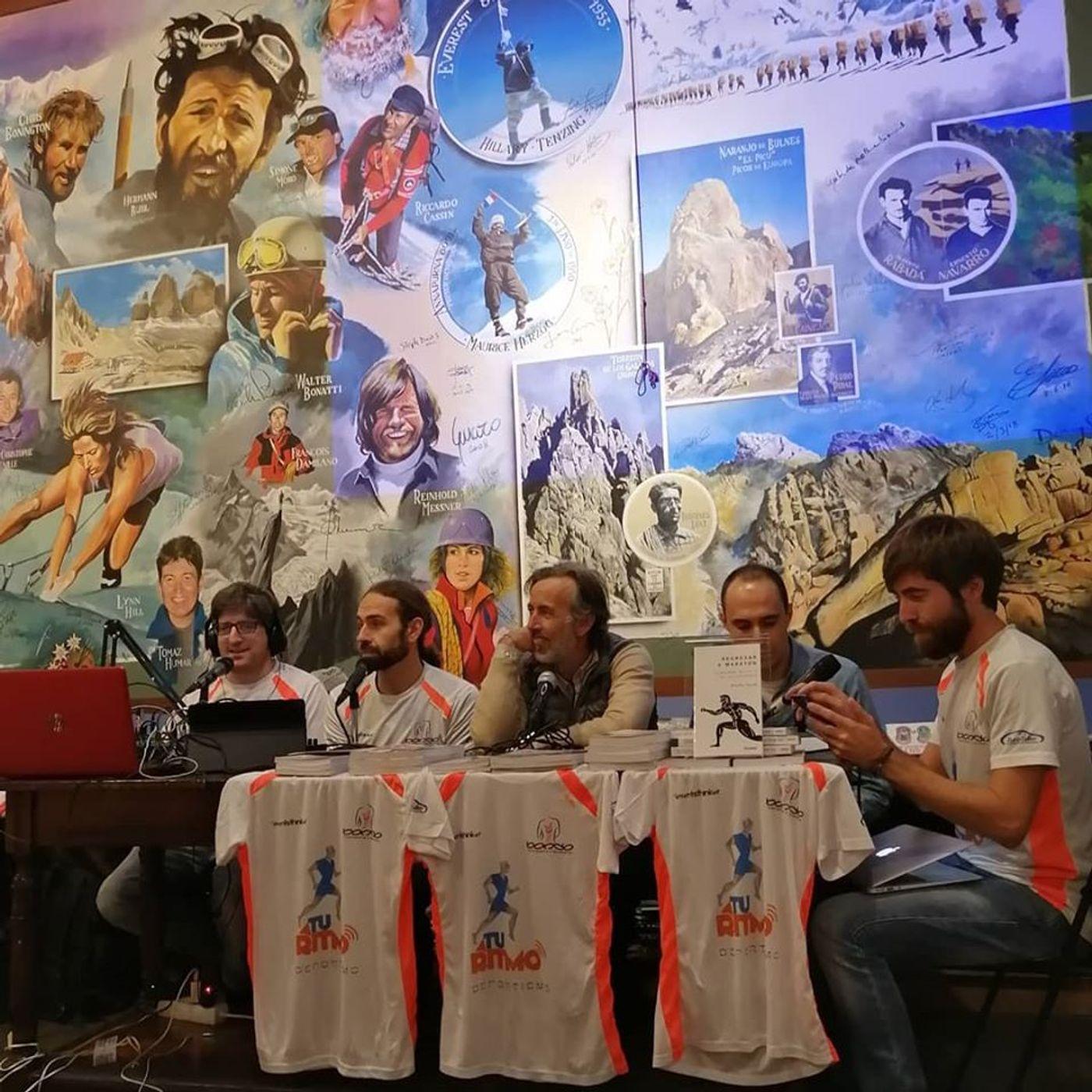 ATR 9 x15 - Libros de Running, entrevista a Adharanand Finn