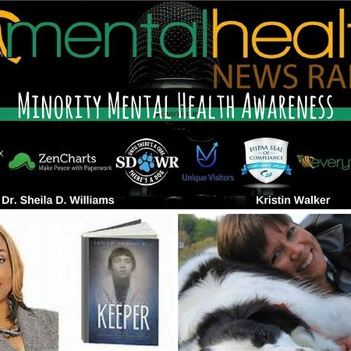 Mental Health News Radio - Minority Mental Health Awareness with Dr. Sheila D. Williams