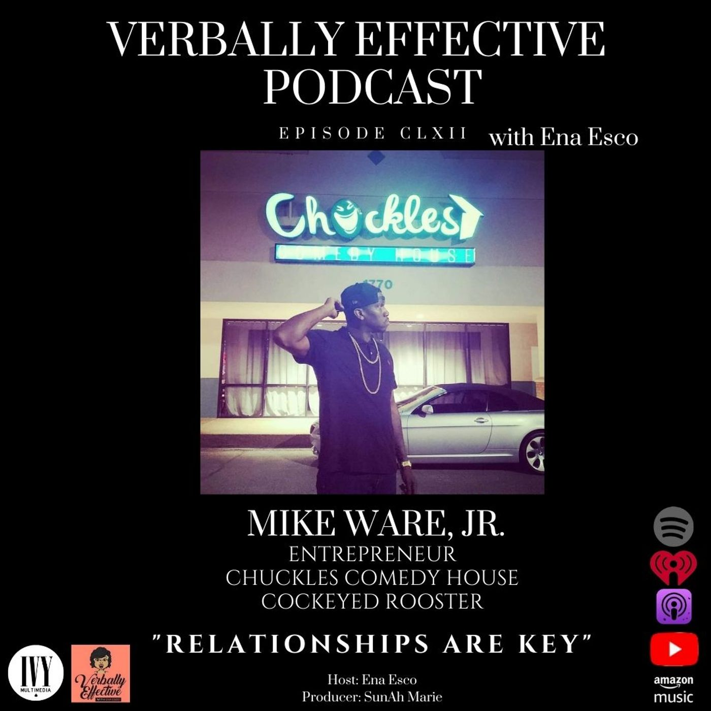 """EPISODE CLXII   """"RELATIONSHIPS ARE KEY"""" w/ MIKE WARE, JR."""