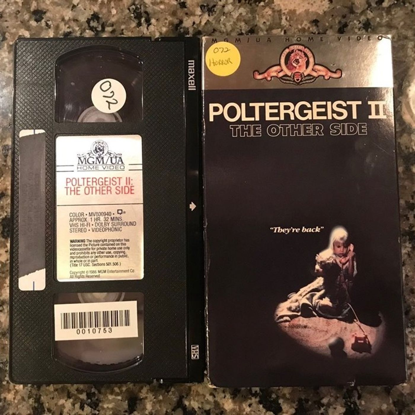 1986 - Poltergeist II: The Other Side