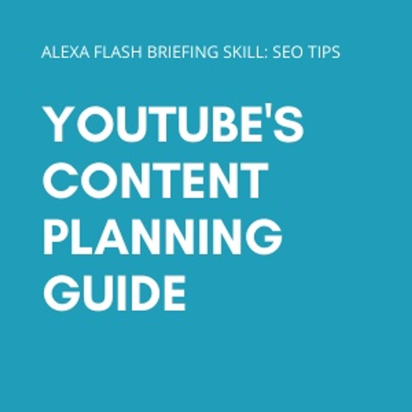 YouTube's content planning guide