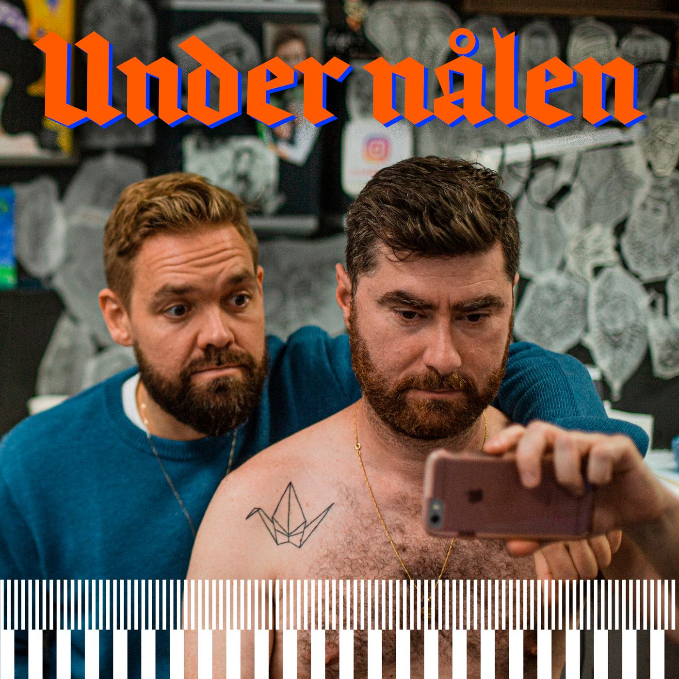 """Puk Damsgård: """"Hvis jeg kommer steder, hvor folk kigger mærkeligt på mig, så er det ikke på grund af tatoveringen"""""""