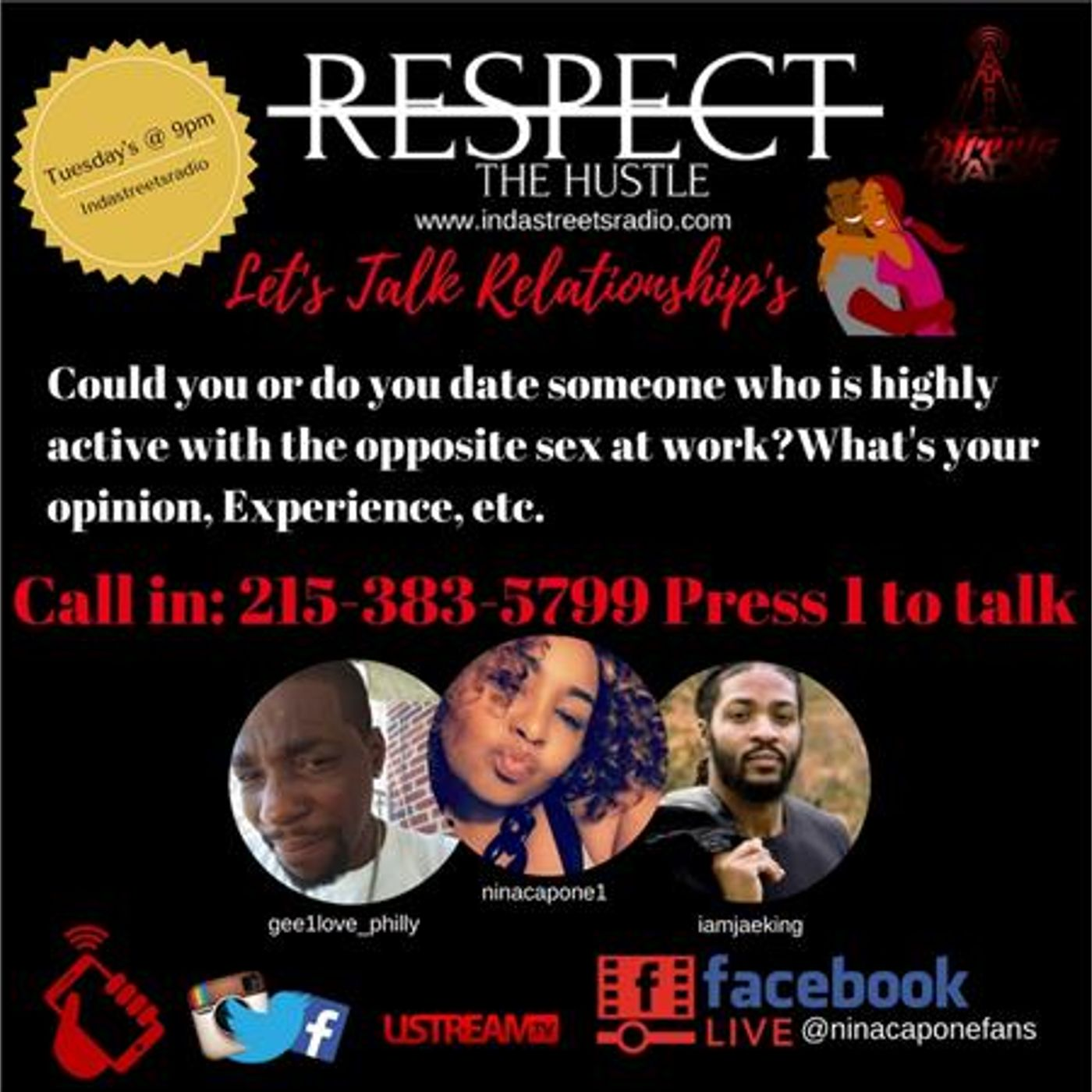 Can you date someone highly interactive with the opposite sex? 215-383-5799