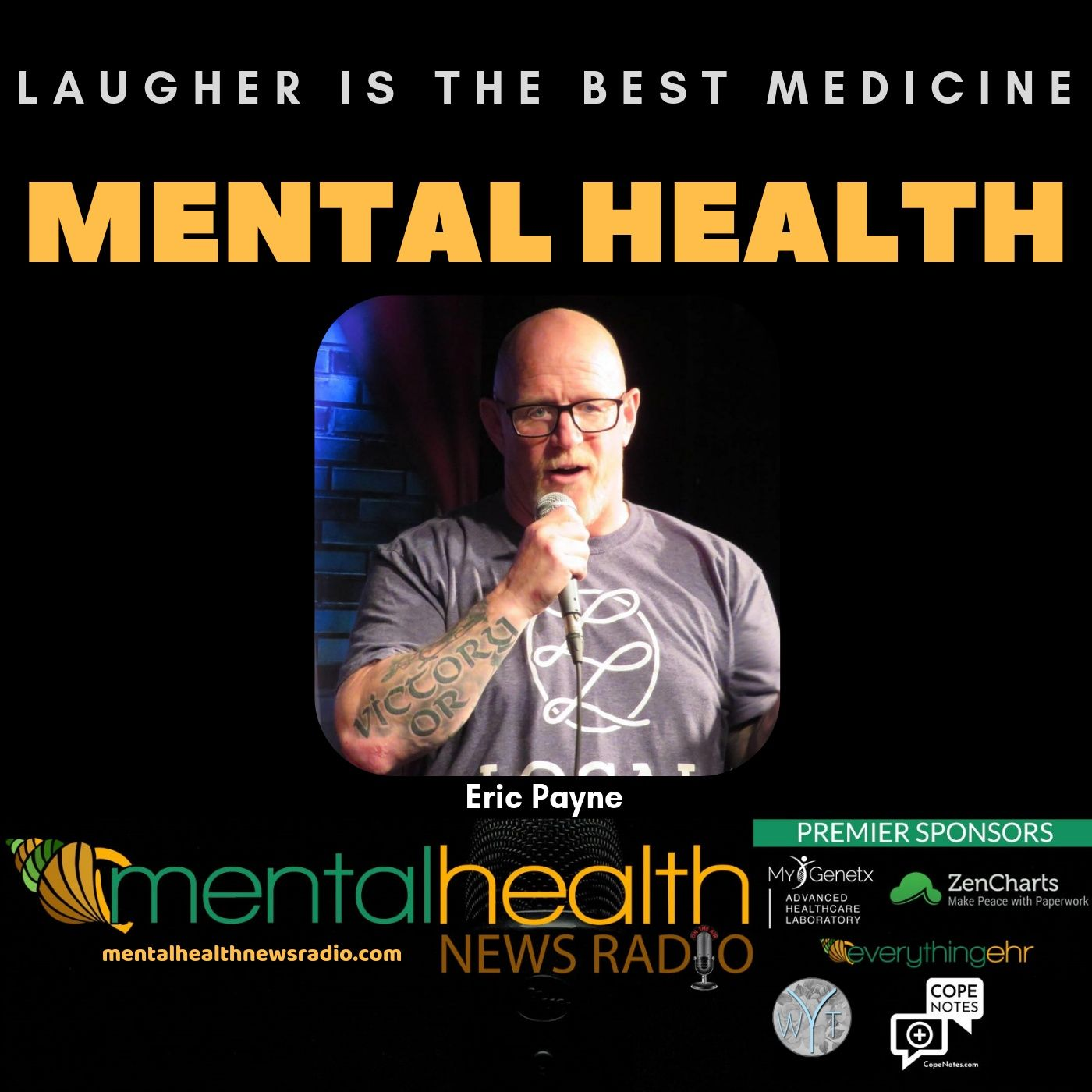 Mental Health News Radio - Laughter is the BEST Medicine for Mental Health