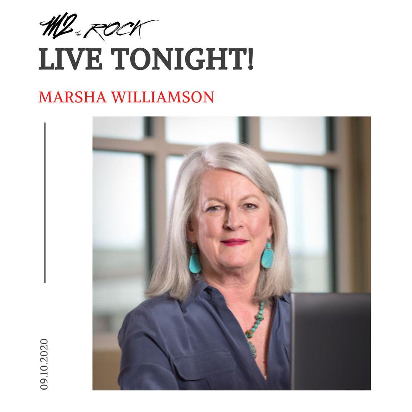 Marsha Williamson LIVE on M2 the Rock