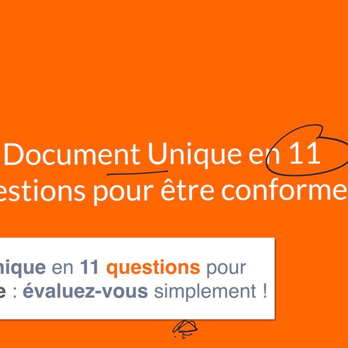 Document unique en 11 questions pour être conforme ?