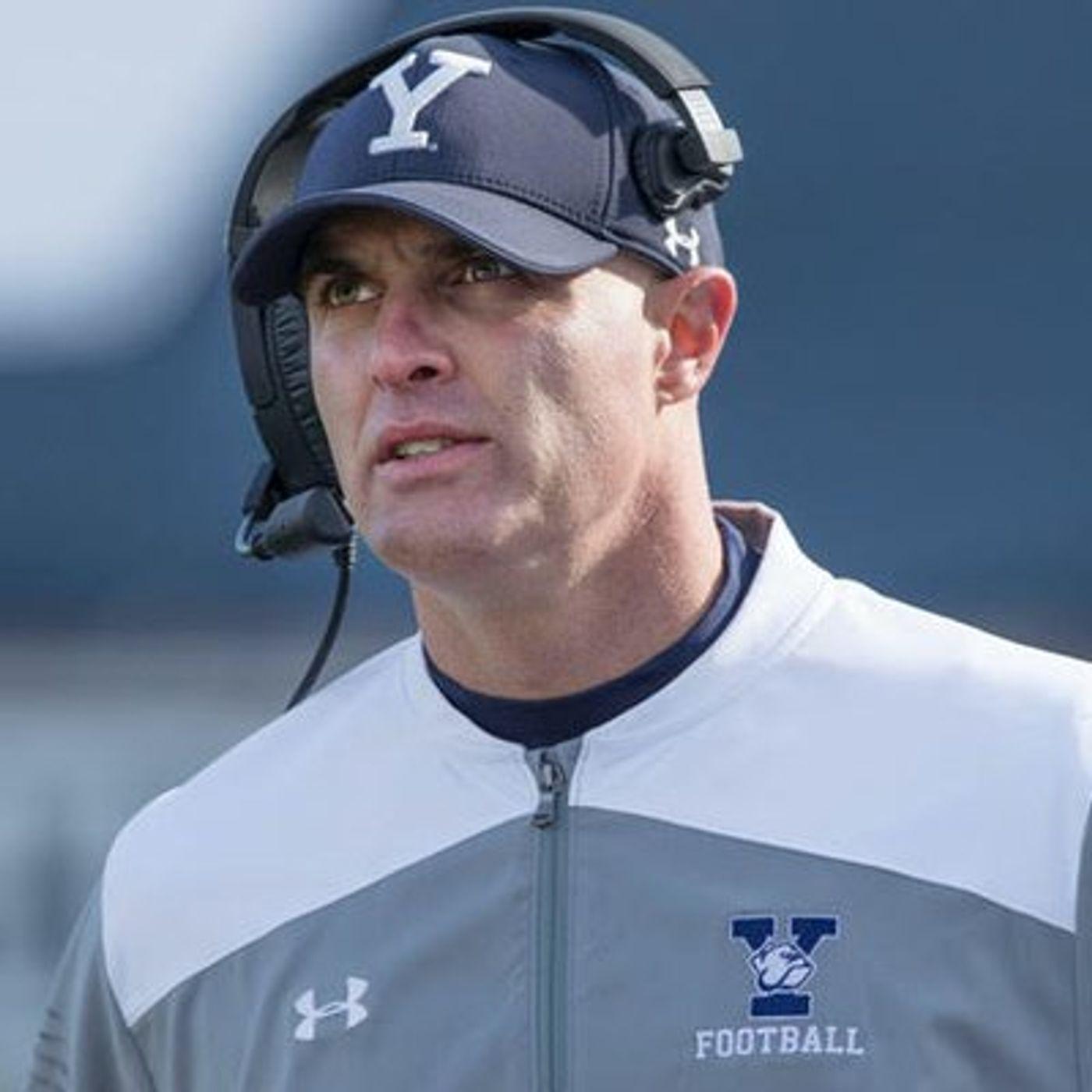 Yale Football Head Coach, Tony Reno