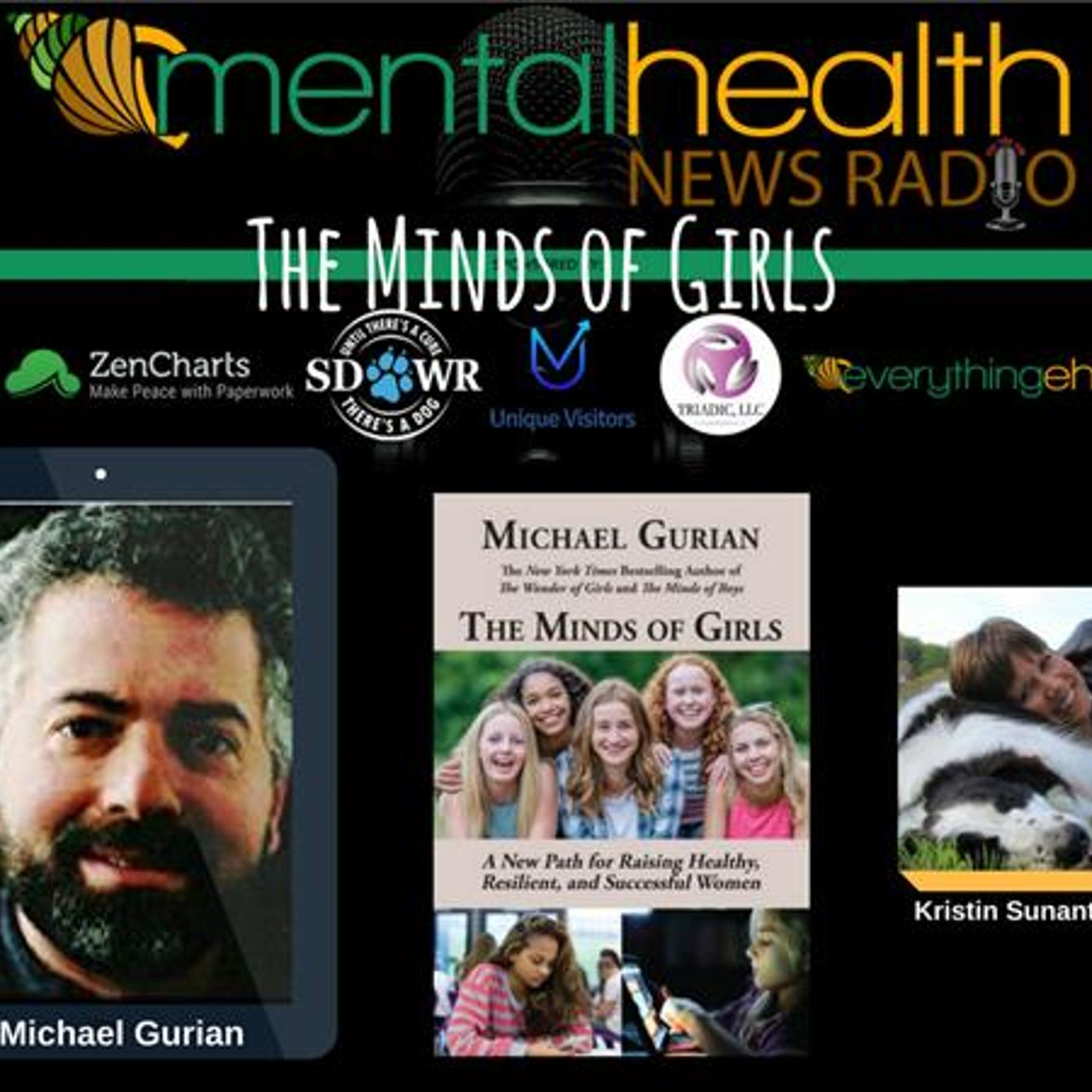 Mental Health News Radio - The Minds of Girls with Dr. Michael Gurian