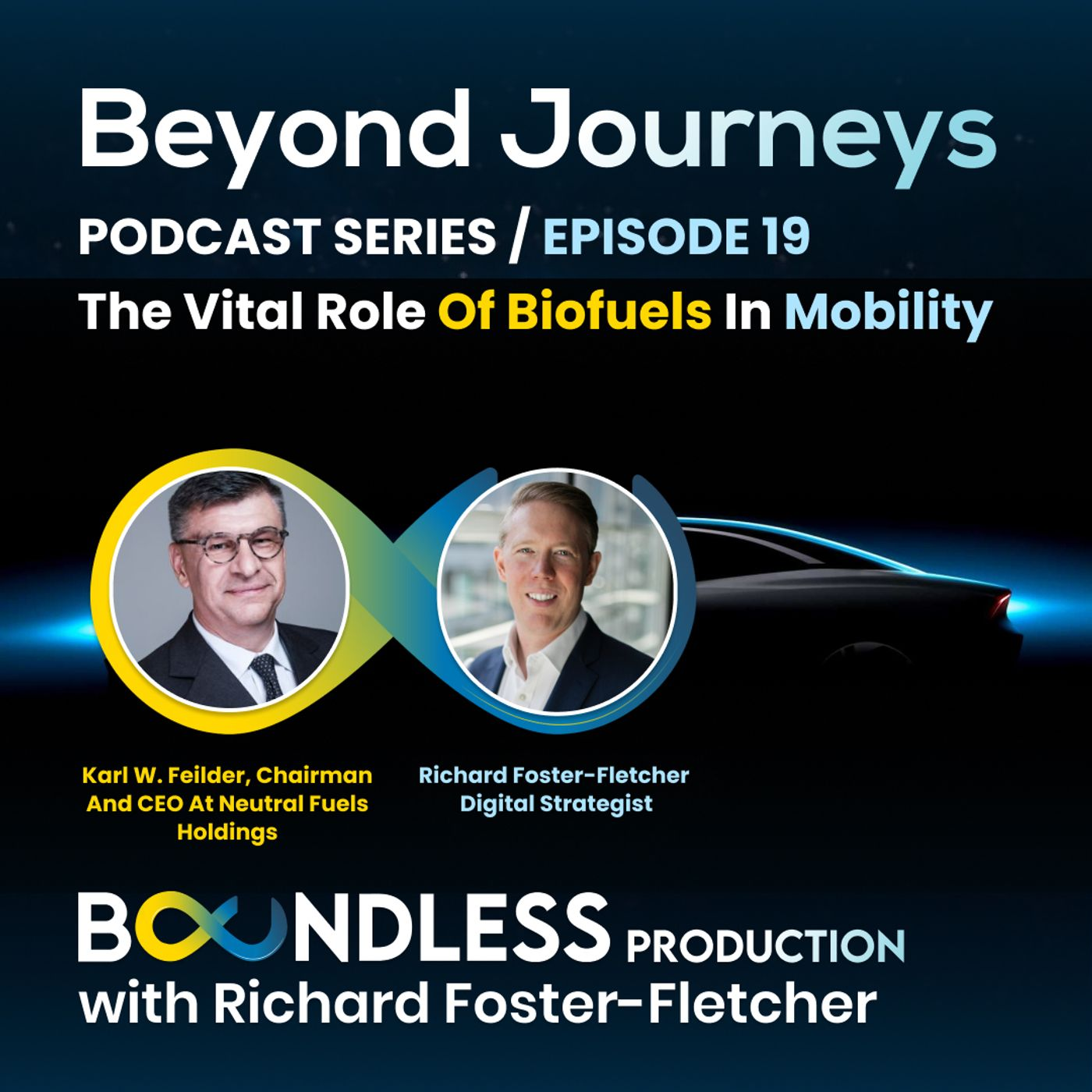 EP19 Beyond Journeys: Karl W. Feilder, CEO at Neutral Fuels Holdings - The vital role of biofuels in mobility