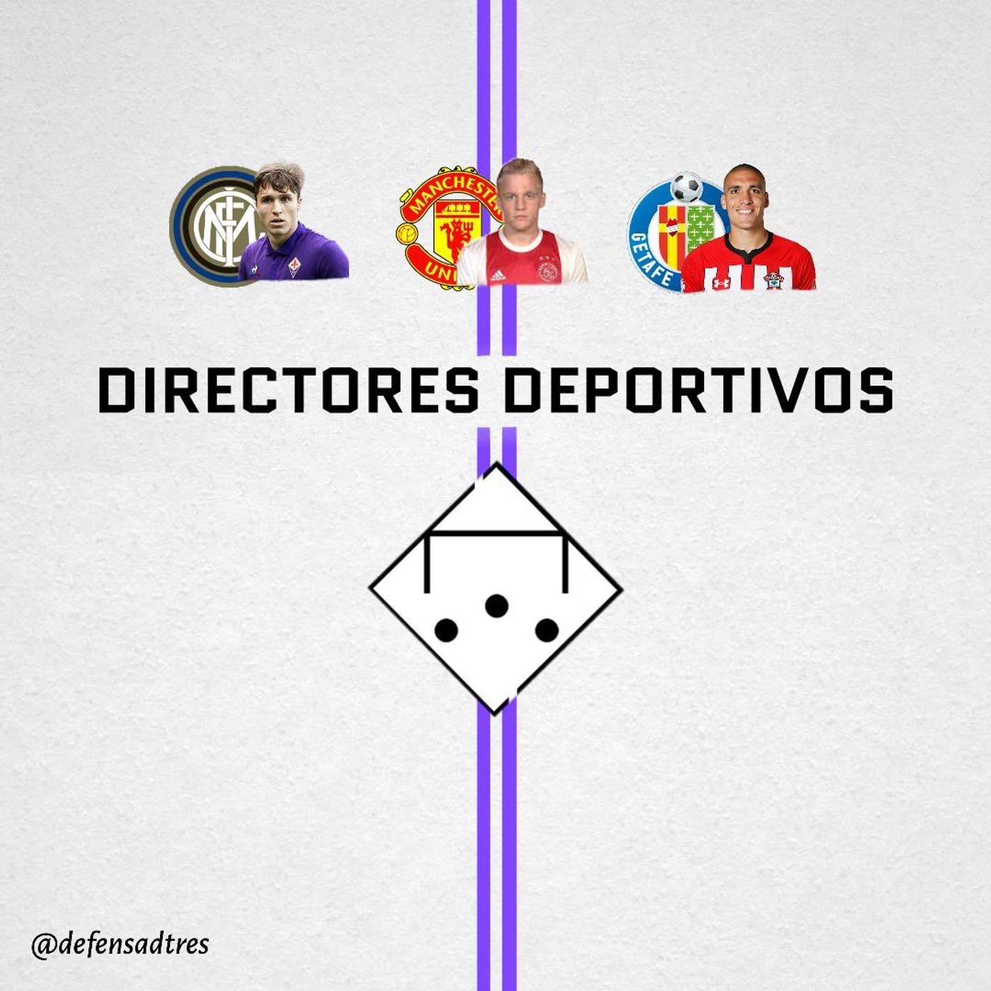JUGAMOS A SER DIRECTORES DEPORTIVOS - Defensa de Tres 26x01
