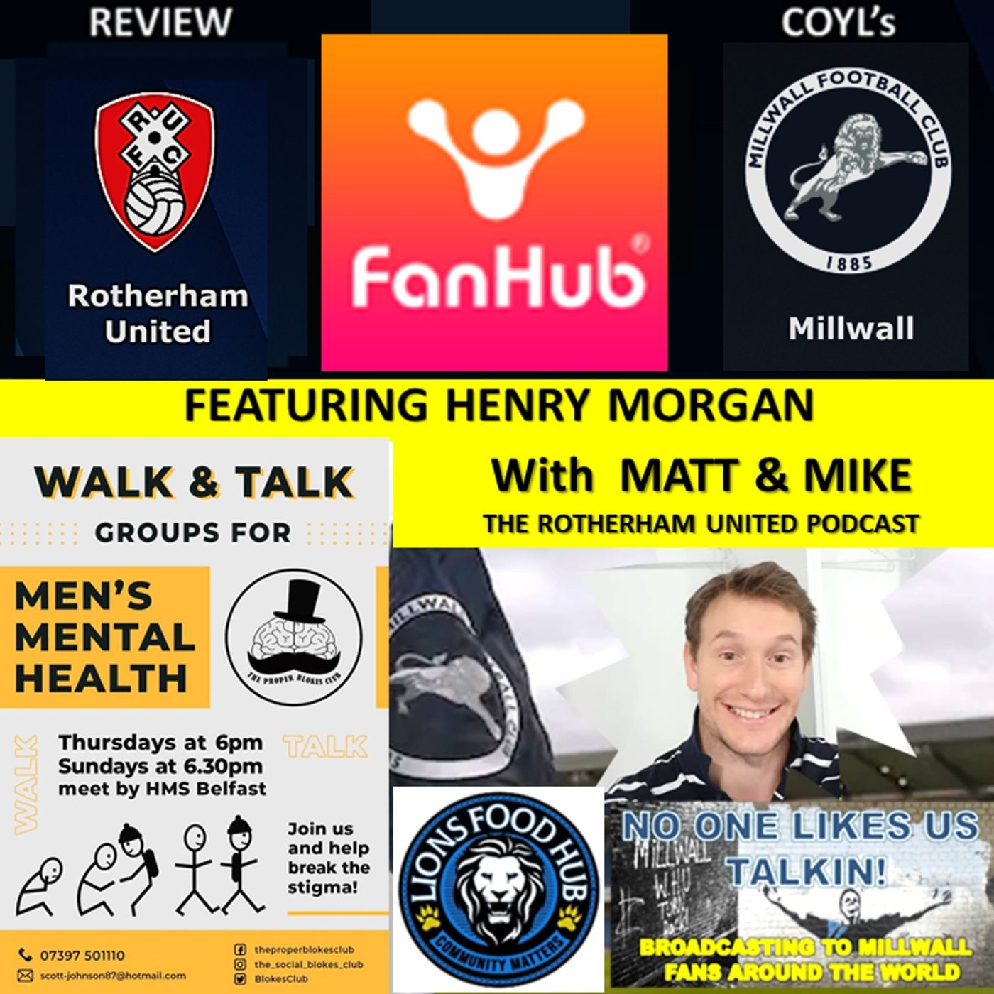 Henry Morgan Reviews Rotherham with Matt  and Mick from The Rotherham United Podcast 040421