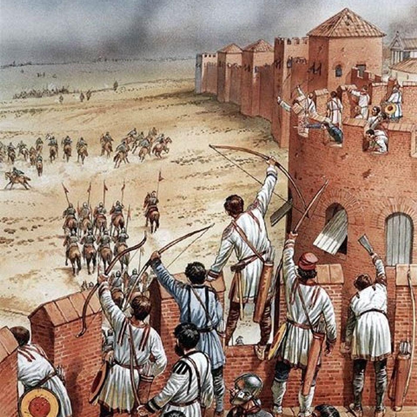 La guerra va a sud (547-549), ep. 79