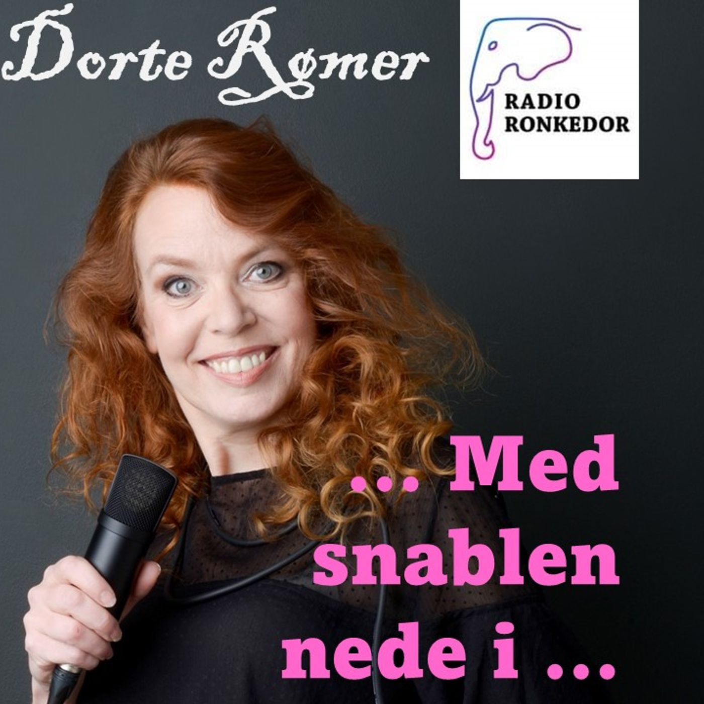 Dorte Rømer med snablen nede i ... (epis 4) Lola Baidel - digteren